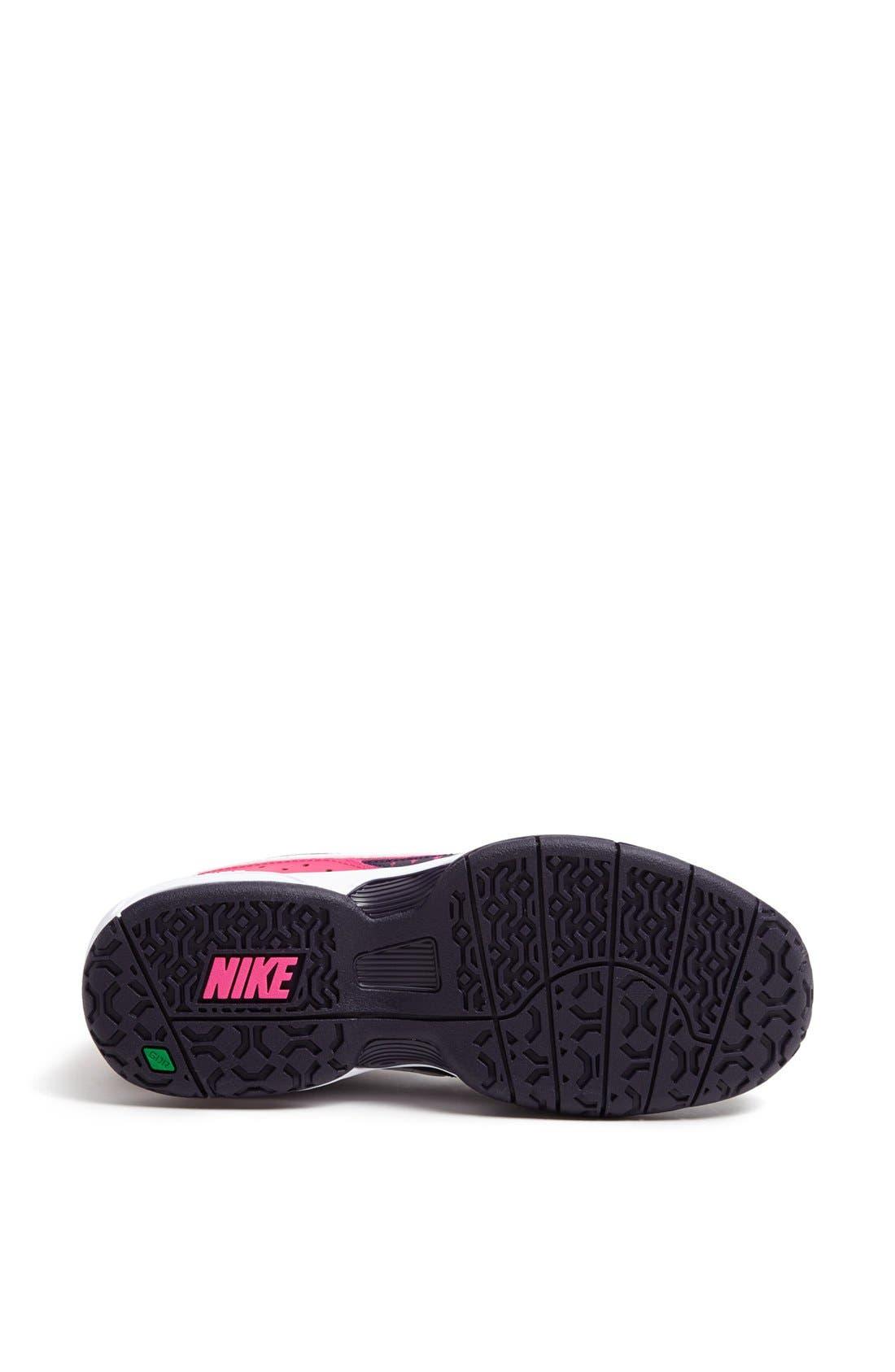Alternate Image 4  - Nike 'Air Cage Advantage' Tennis Shoe (Women)