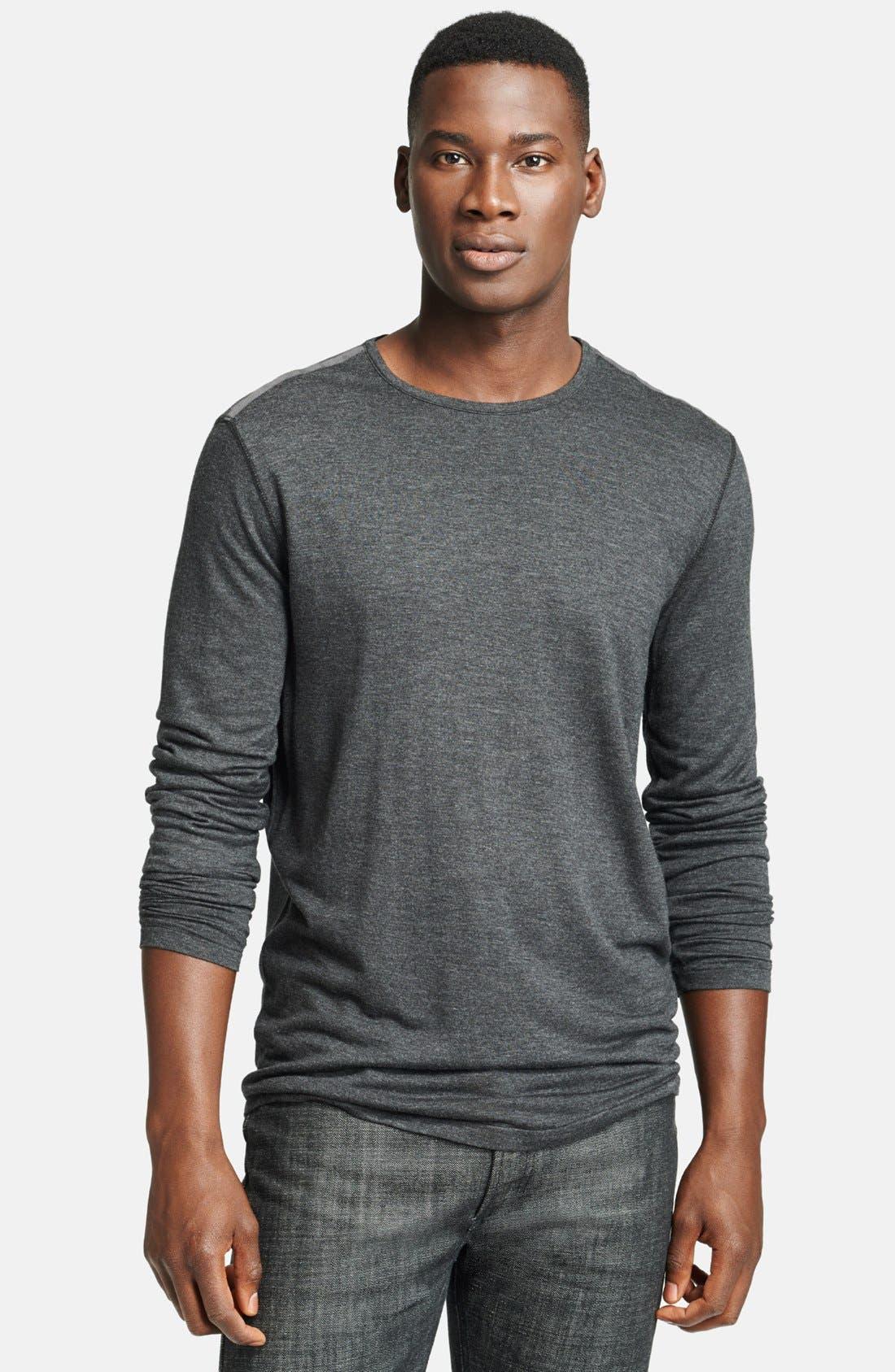 Alternate Image 1 Selected - John Varvatos Star USA Long Sleeve T-Shirt