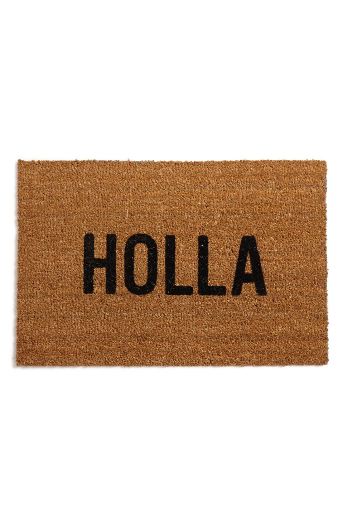 Reed Wilson Design 'Holla' Doormat