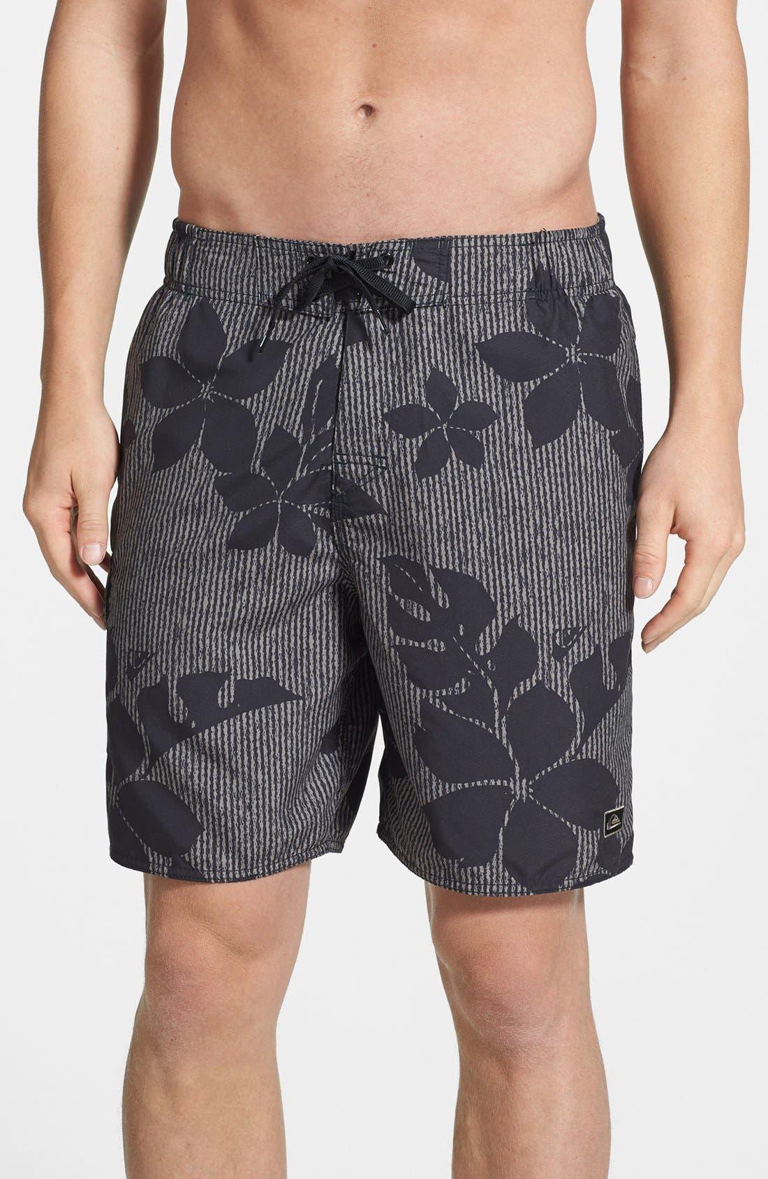 Alternate Image 1 Selected - Quiksilver Waterman 'Manu' Swim Shorts