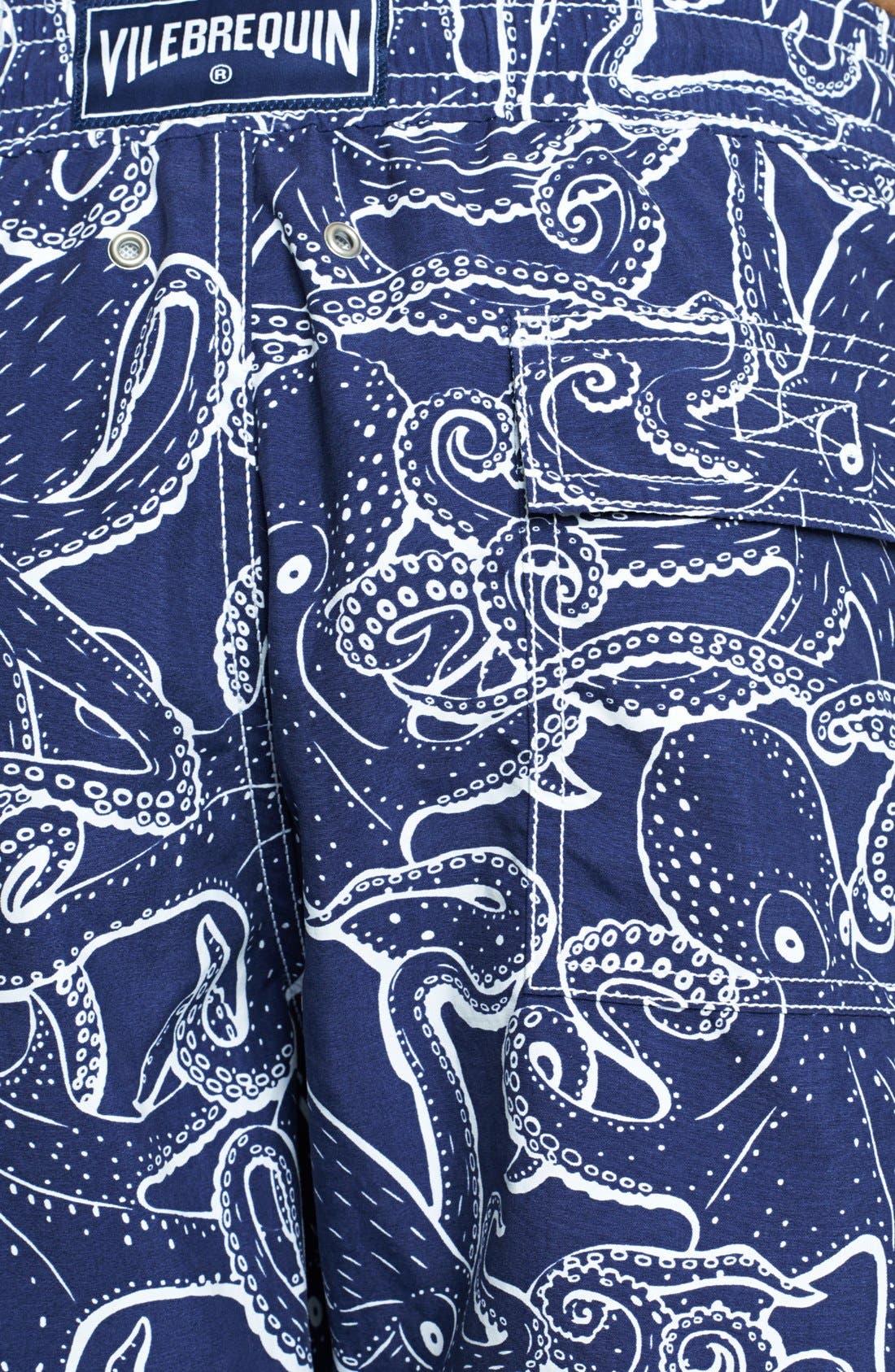 Alternate Image 3  - Vilebrequin 'Moorea' Octopus Print Swim Trunks