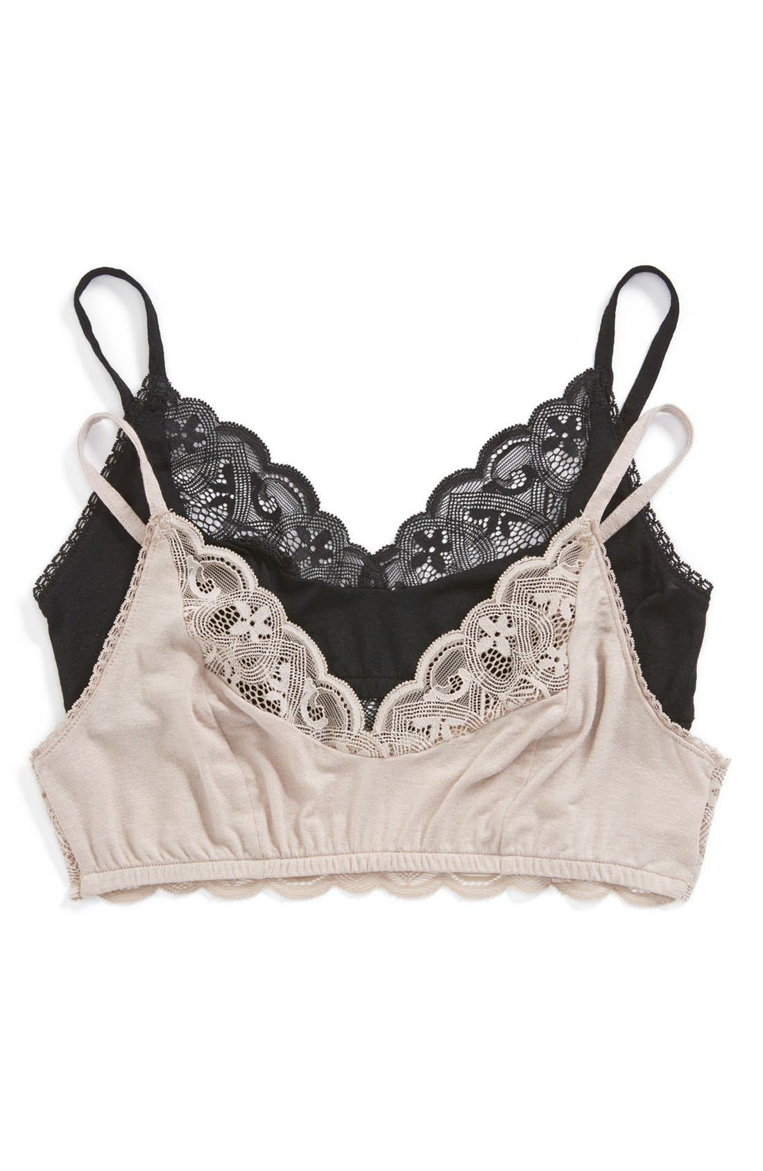 Alternate Image 4  - Only Hearts 'Featherweight' Lace Bralette