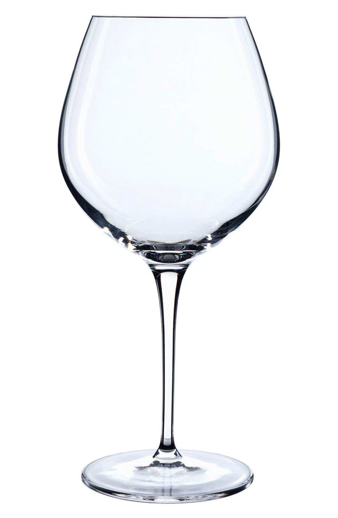 Alternate Image 1 Selected - Luigi Bormioli 'Crescendo' Bourgogne Glasses (Set of 4)