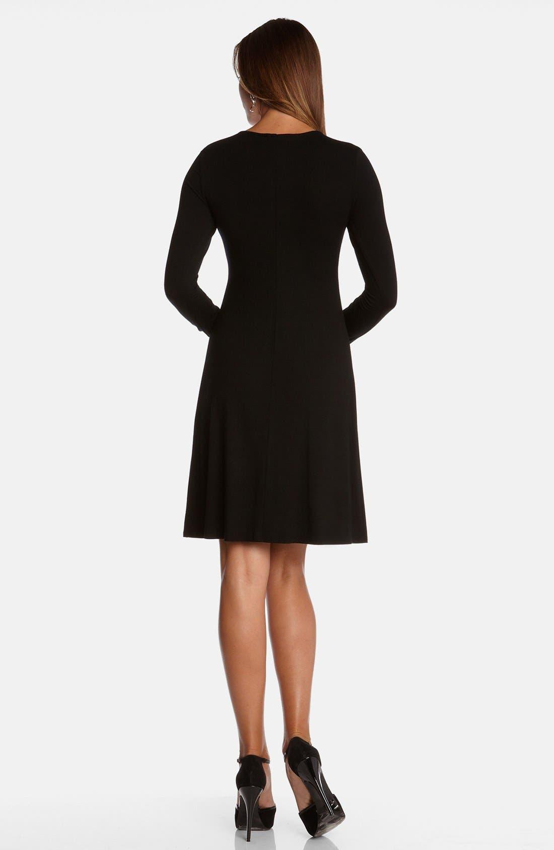 Alternate Image 2  - Karen Kane 'Elizabeth' Stretch Fit & Flare Dress