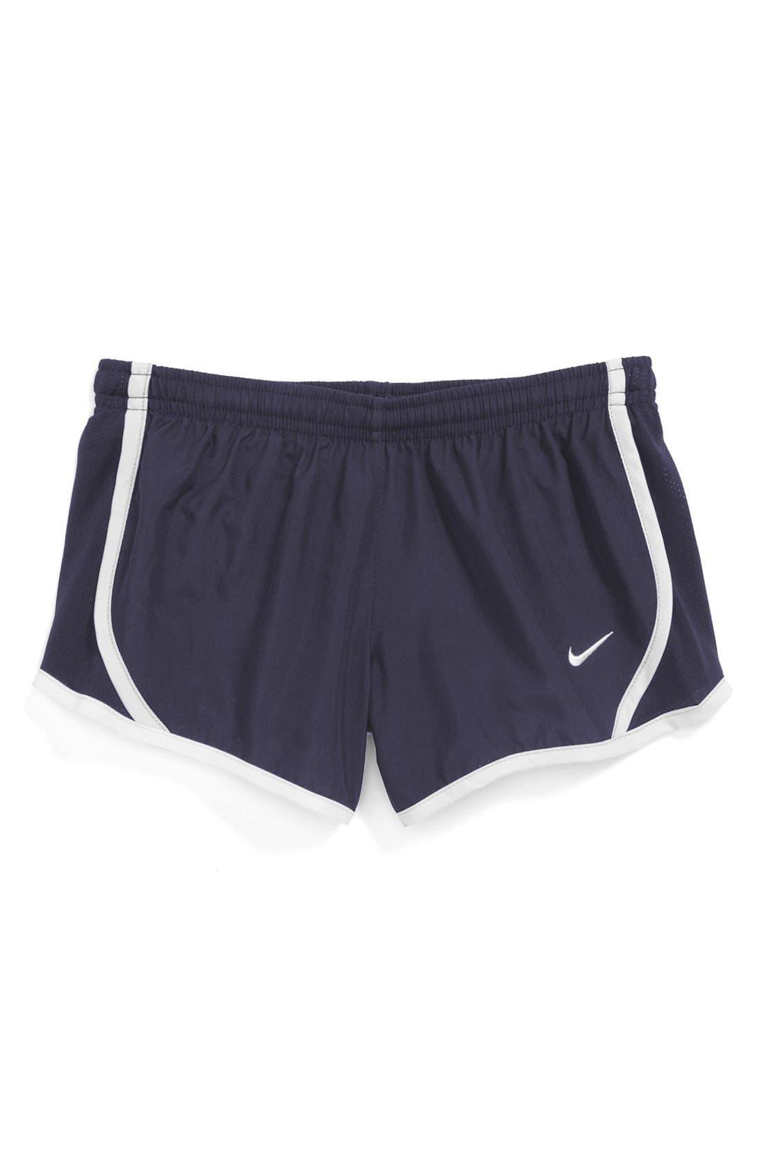 Alternate Image 1 Selected - Nike 'Tempo' Track Shorts (Big Girls)
