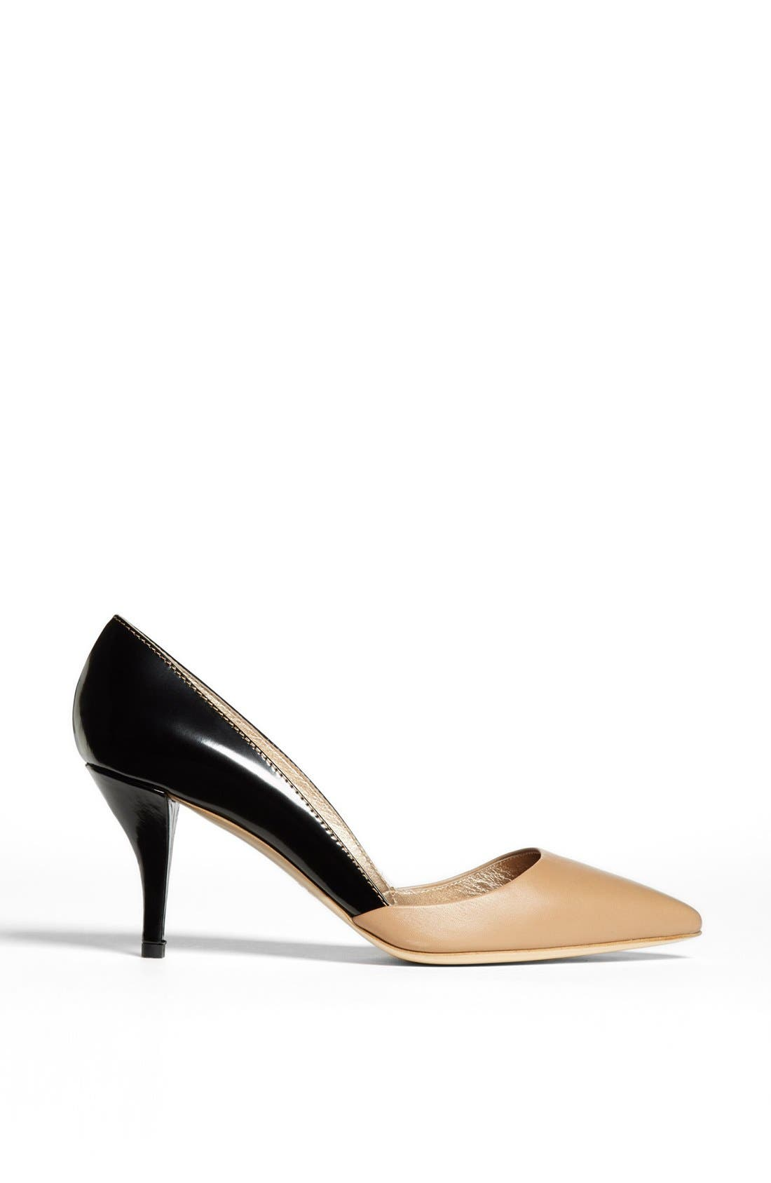 Alternate Image 4  - Lanvin Bicolor Pointy Toe Pump