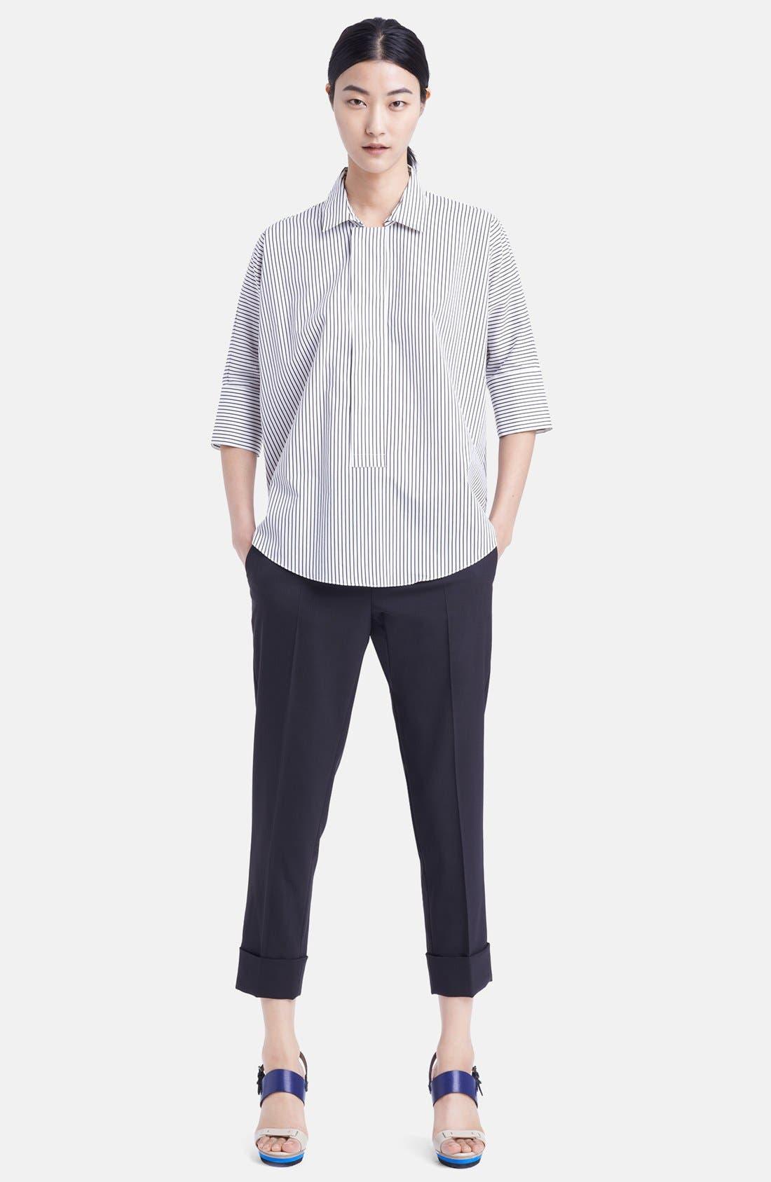 Alternate Image 3  - Marni Stripe Cotton Blouse