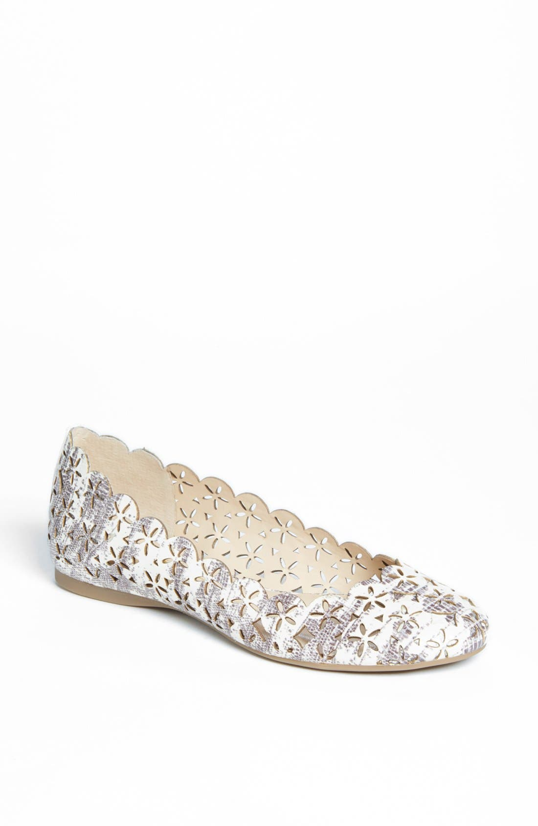 Alternate Image 1 Selected - Jessica Simpson 'Silviah' Flat