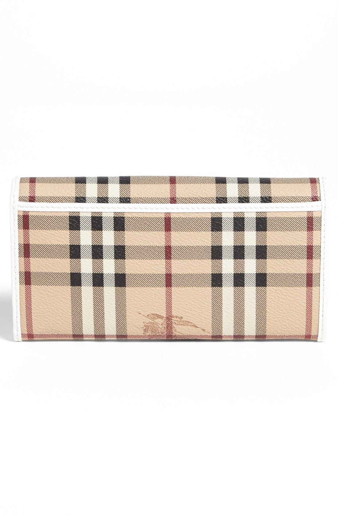 Alternate Image 3  - Burberry 'Penrose' Continental Wallet