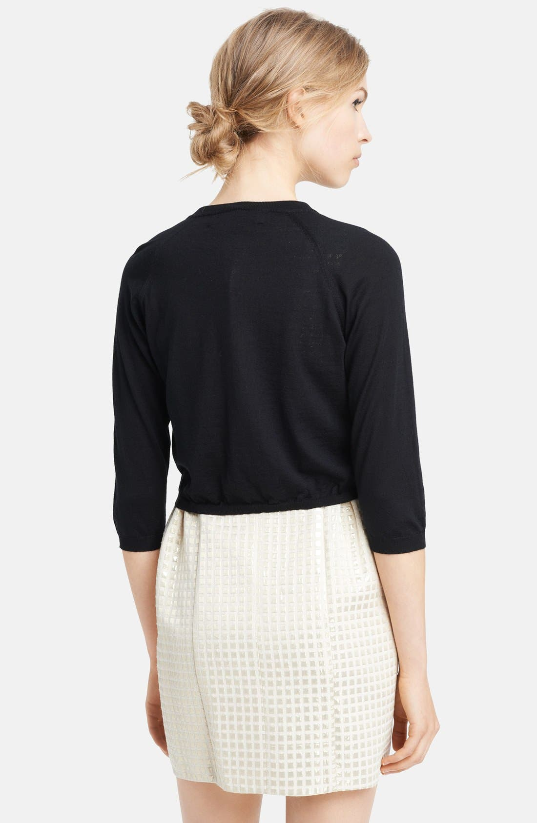 Alternate Image 2  - Marni Crop Cashmere Cardigan