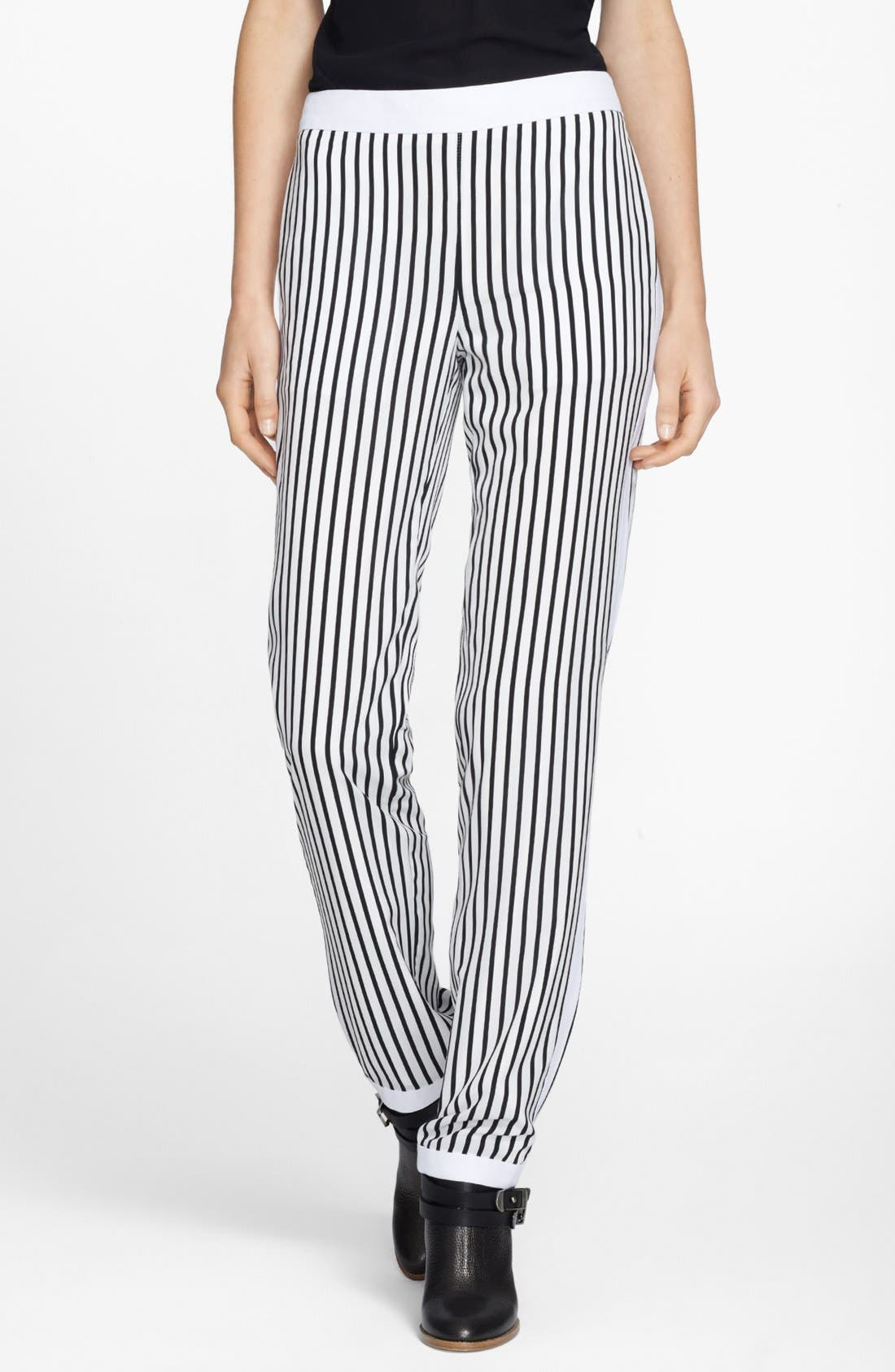 Main Image - J Brand Ready-To-Wear 'Delia' Stripe Trousers