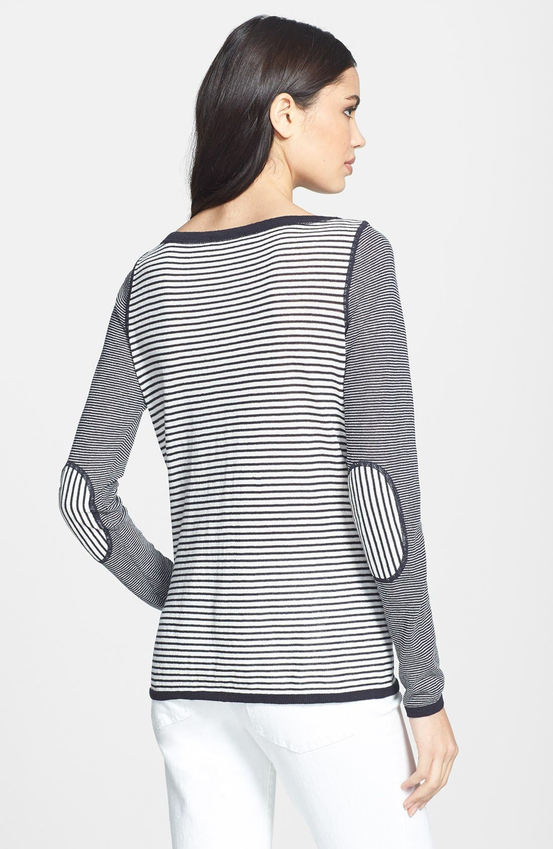 Alternate Image 2  - Tory Burch 'Kamila' Mixed Stripe Sweater