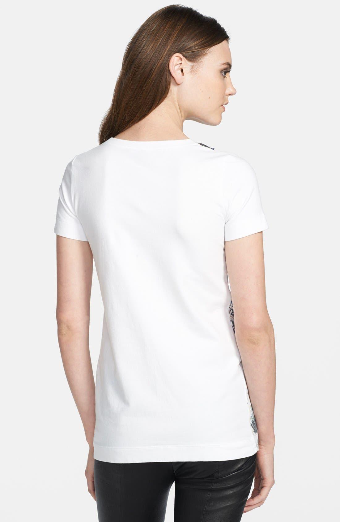 Alternate Image 2  - Just Cavalli Short Sleeve Print Tee