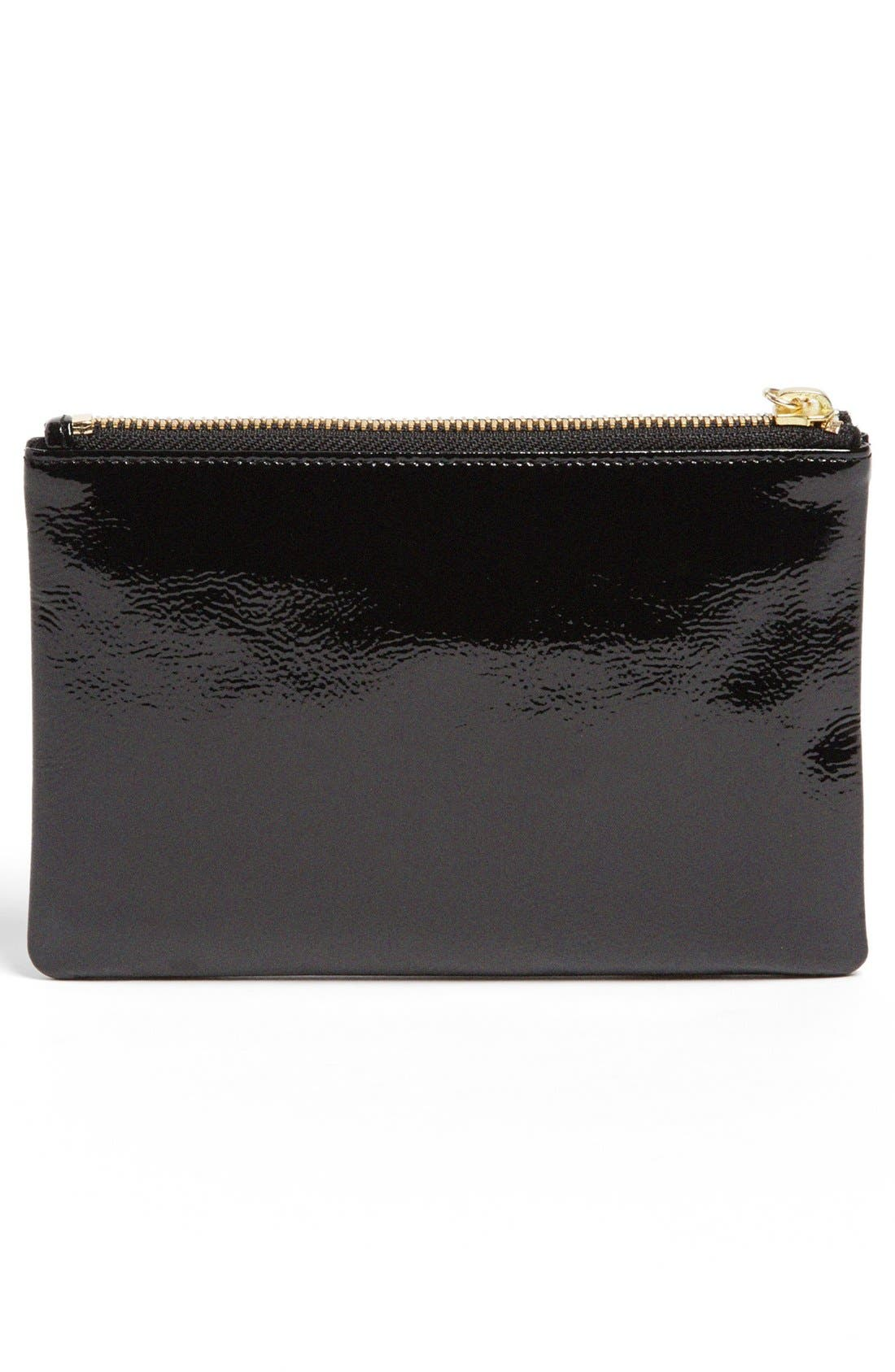 Alternate Image 3  - Halogen® Patent Leather Clutch