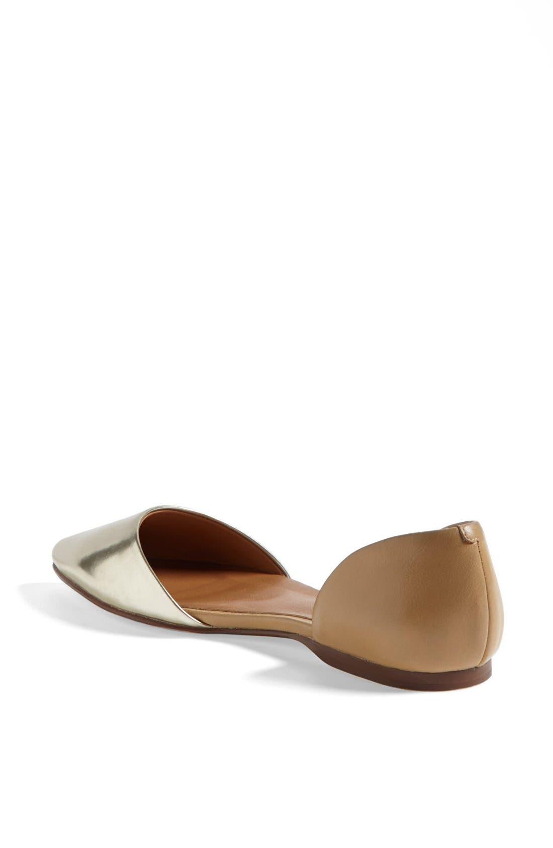 Alternate Image 2  - Halogen® 'Kayla' Pointy Toe Flat