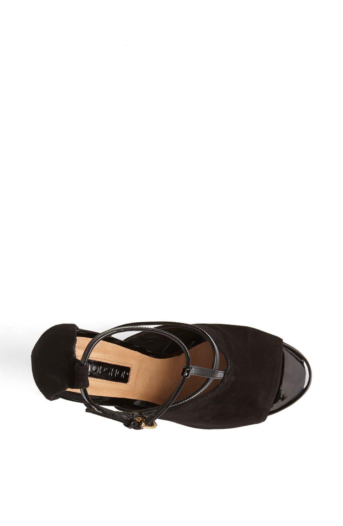 Alternate Image 3  - Topshop 'Gamos' Leather Sandal