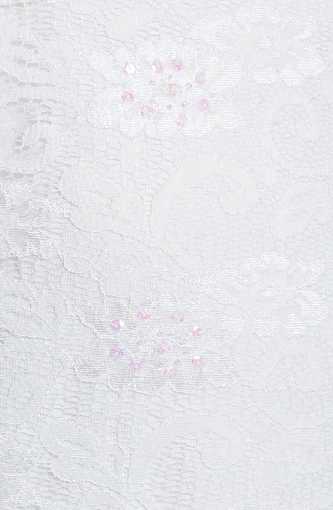 Alternate Image 4  - Marina Embellished Lace Sheath Dress