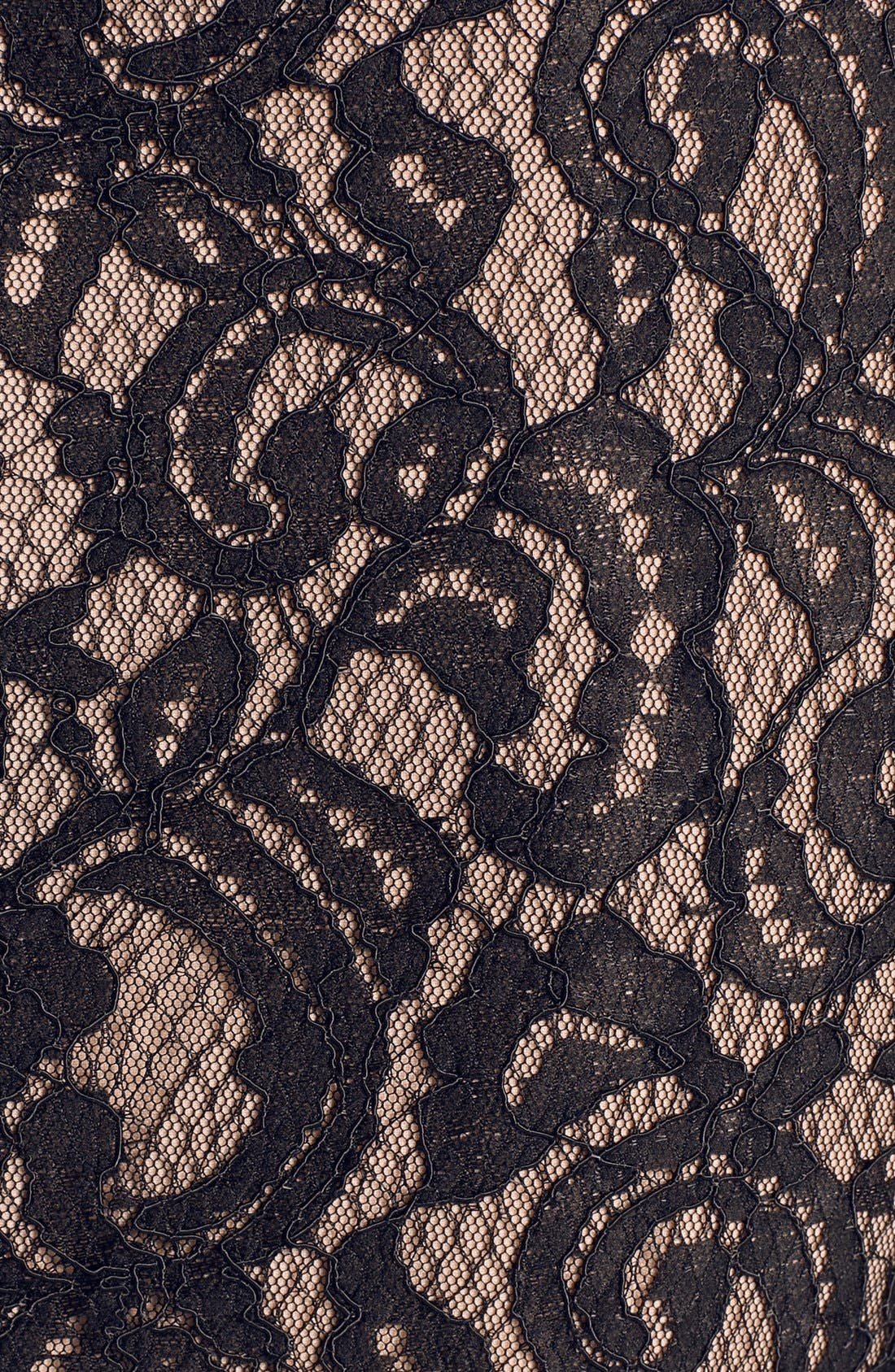 Alternate Image 3  - Ivy & Blu Lace Trim Ponte Knit Sheath