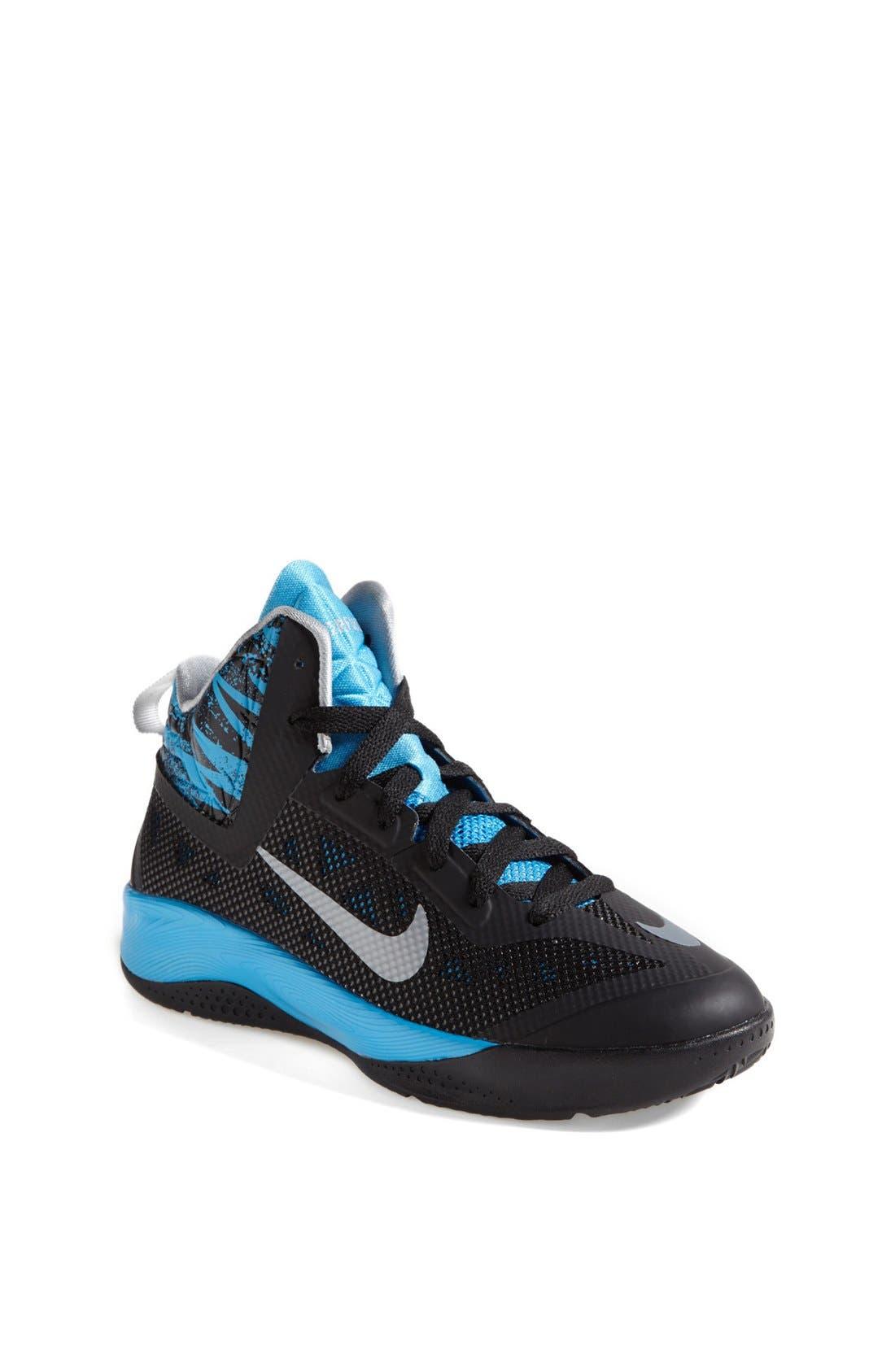 Main Image - Nike 'Hyperfuse 2013' Basketball Shoe (Big Kid)