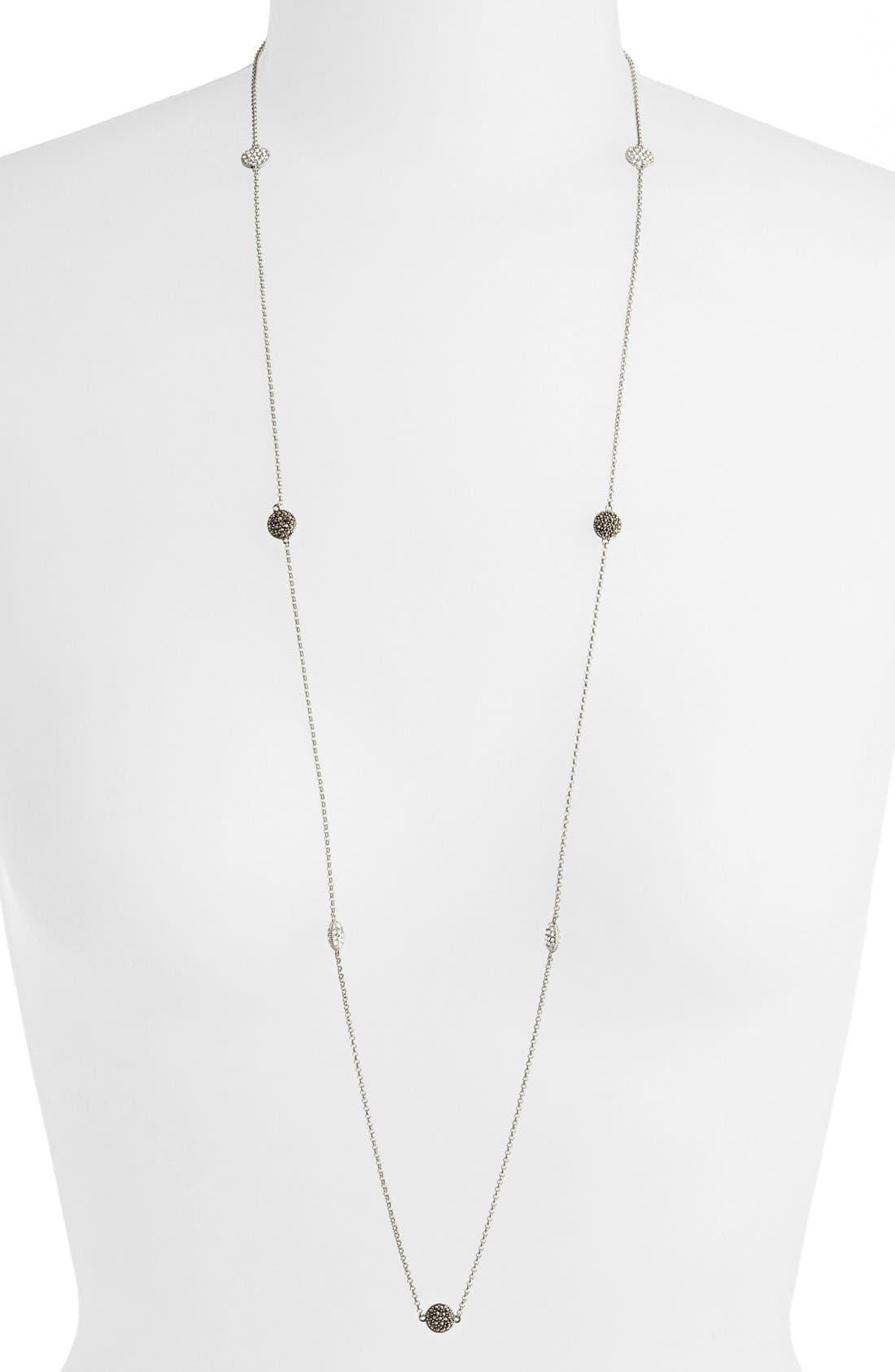 Alternate Image 1 Selected - Judith Jack Long Station Necklace
