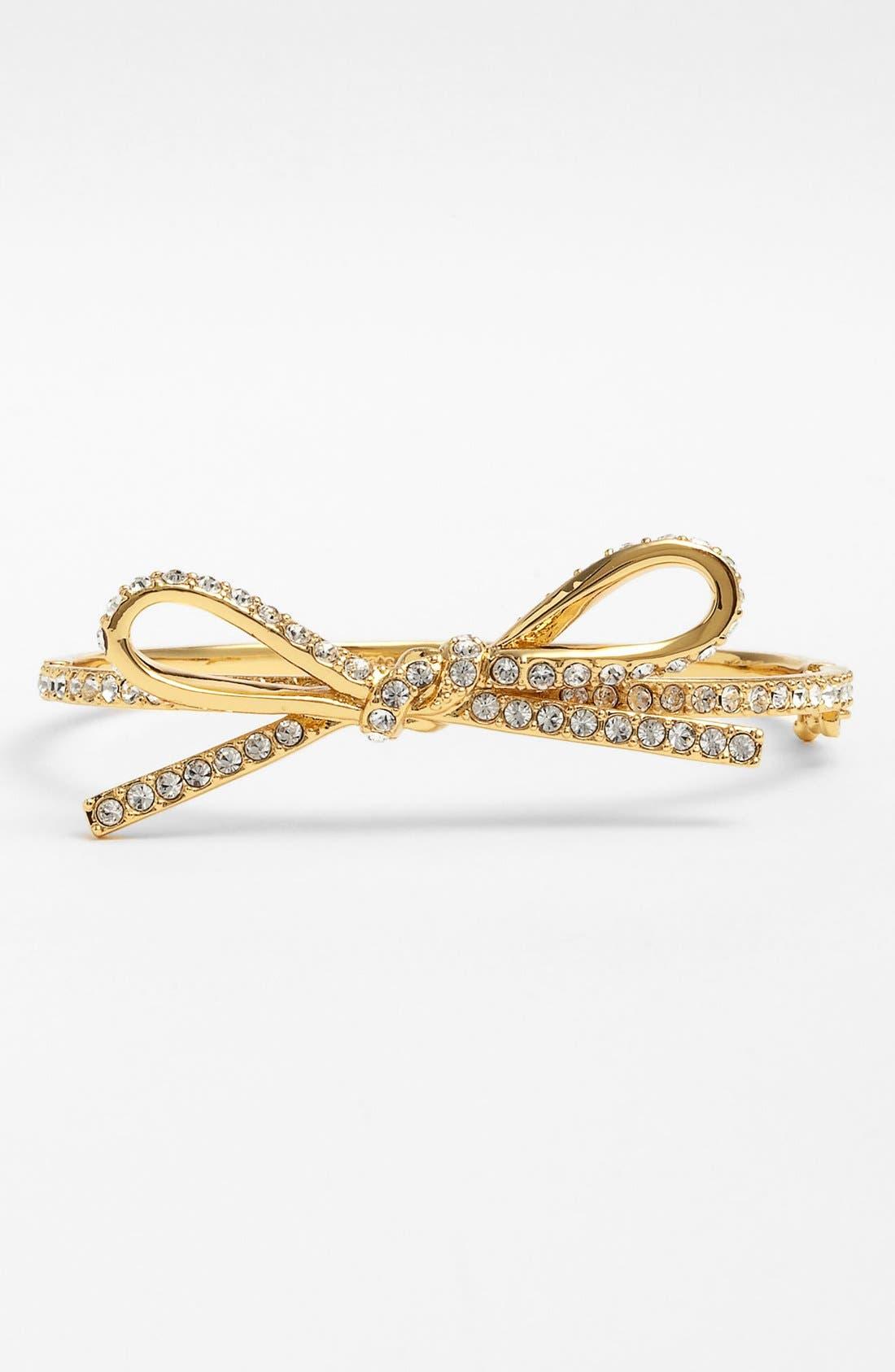 Main Image - kate spade new york 'skinny mini' bow bangle