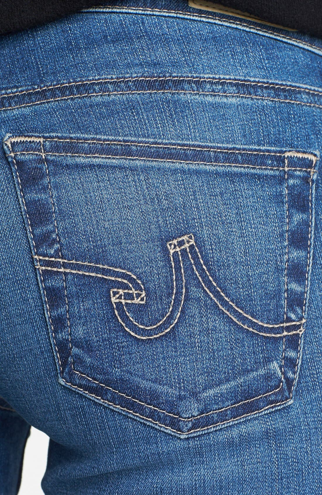 'The Stilt' Cigarette Leg Jeans,                             Alternate thumbnail 3, color,                             Eleven Year Journey