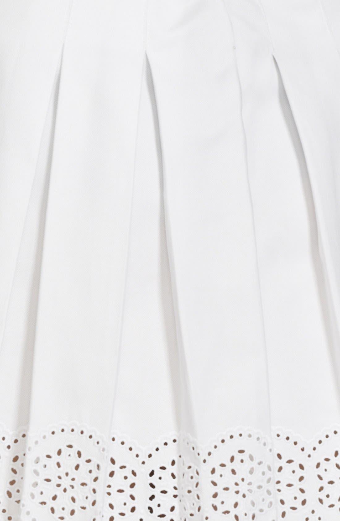 Alternate Image 2  - Alexander McQueen Pleated Scallop Hem Skirt