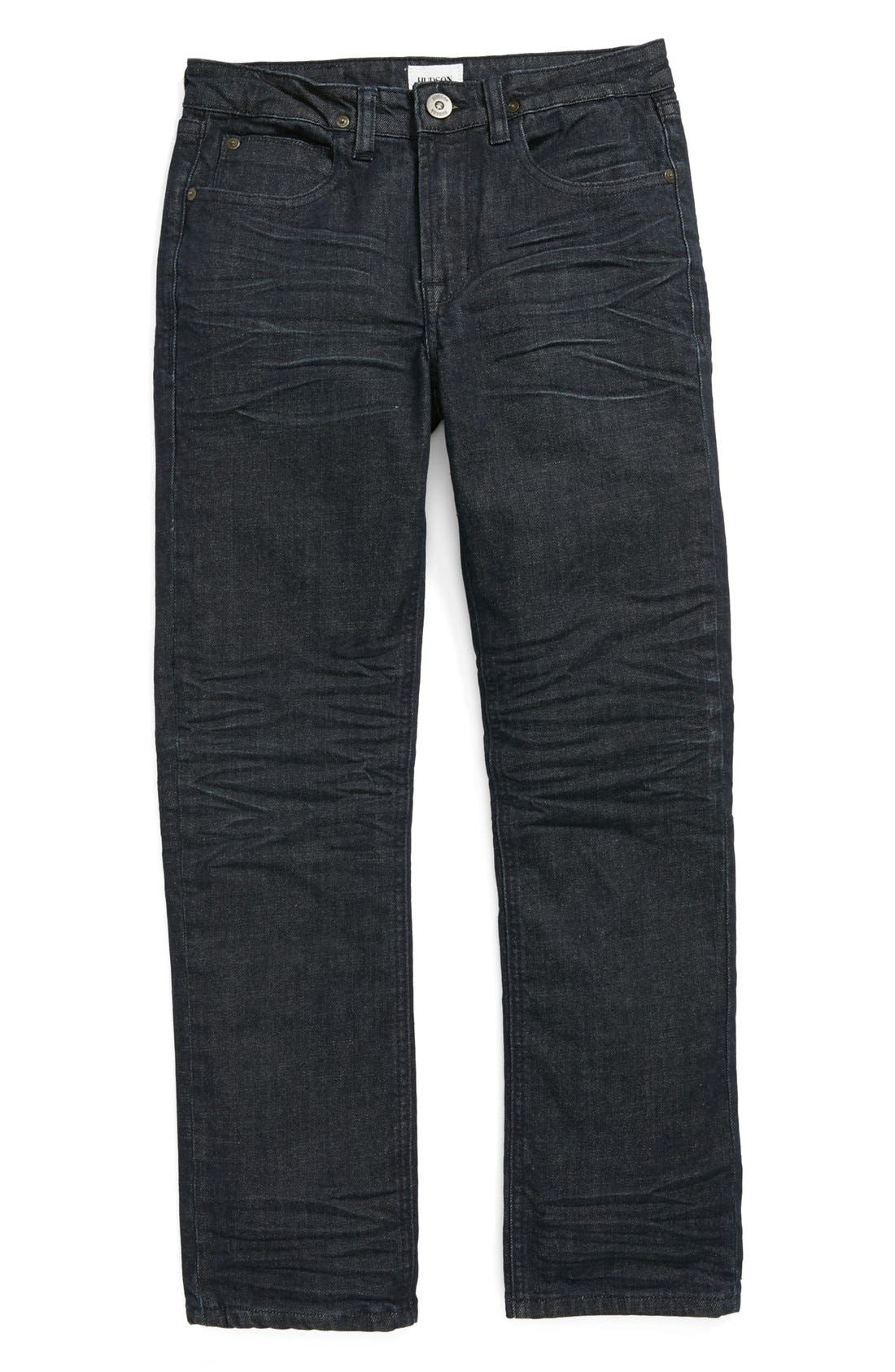 Alternate Image 2  - Hudson Kids 'Parker' Straight Leg Jeans (Little Boys & Big Boys)