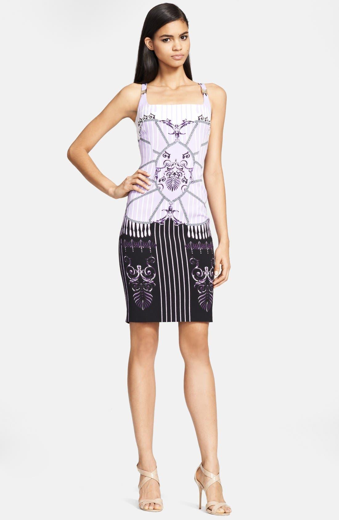 Main Image - Versace Collection Print Sheath Dress