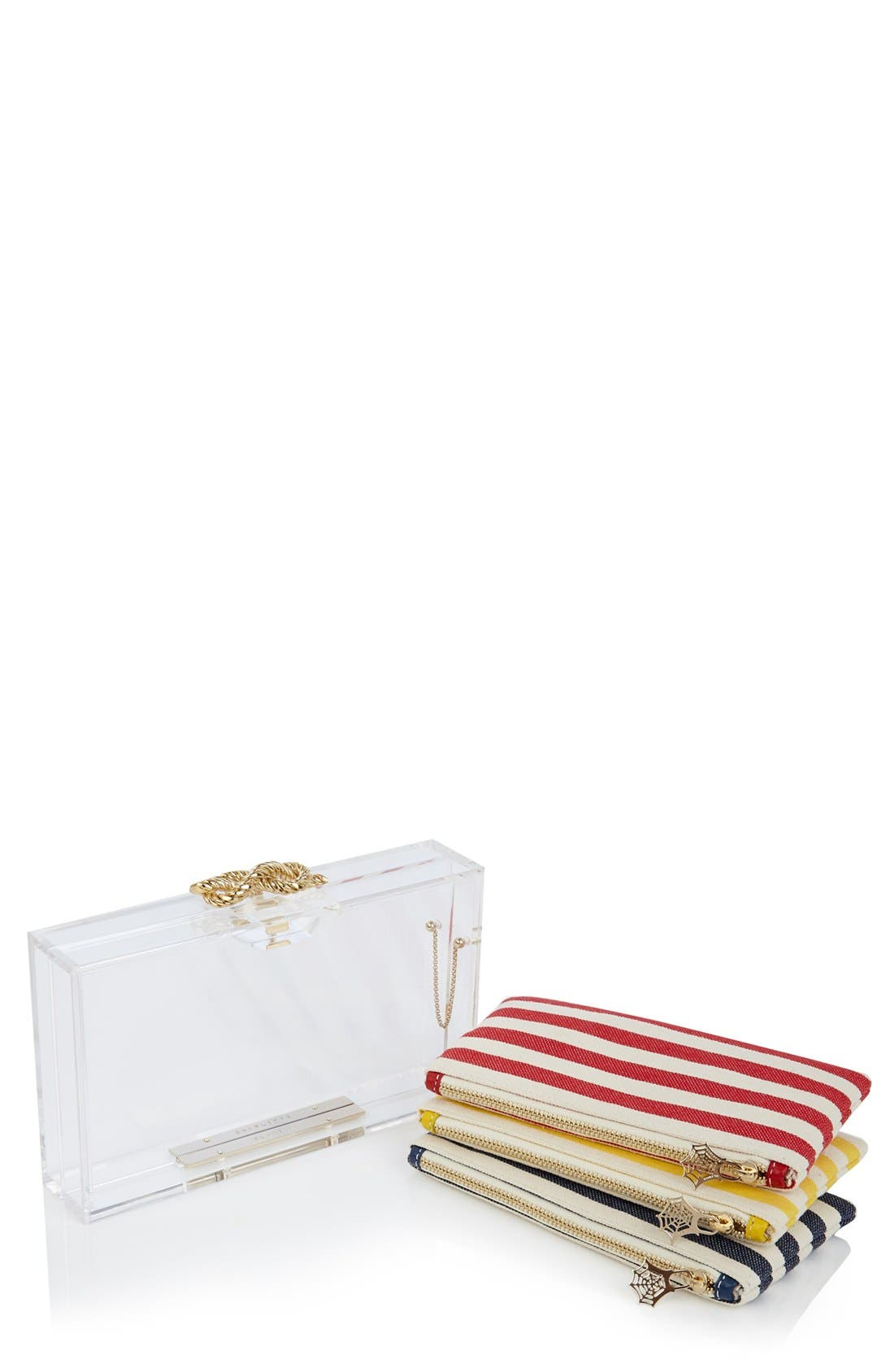 Alternate Image 1 Selected - Charlotte Olympia 'Pandora - Knot' Clutch