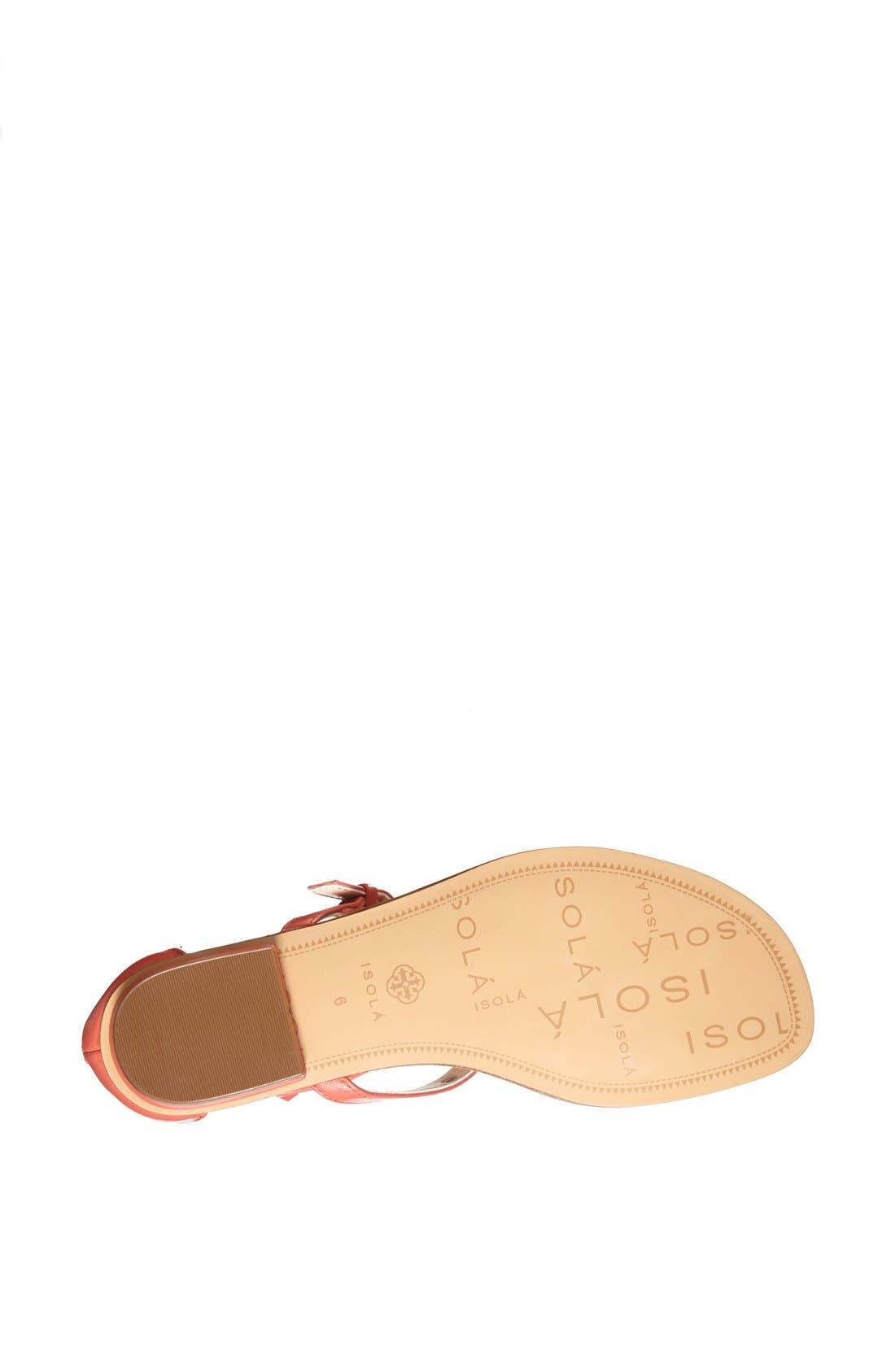 Alternate Image 4  - Isolá 'Adie' Studded Leather Thong Sandal