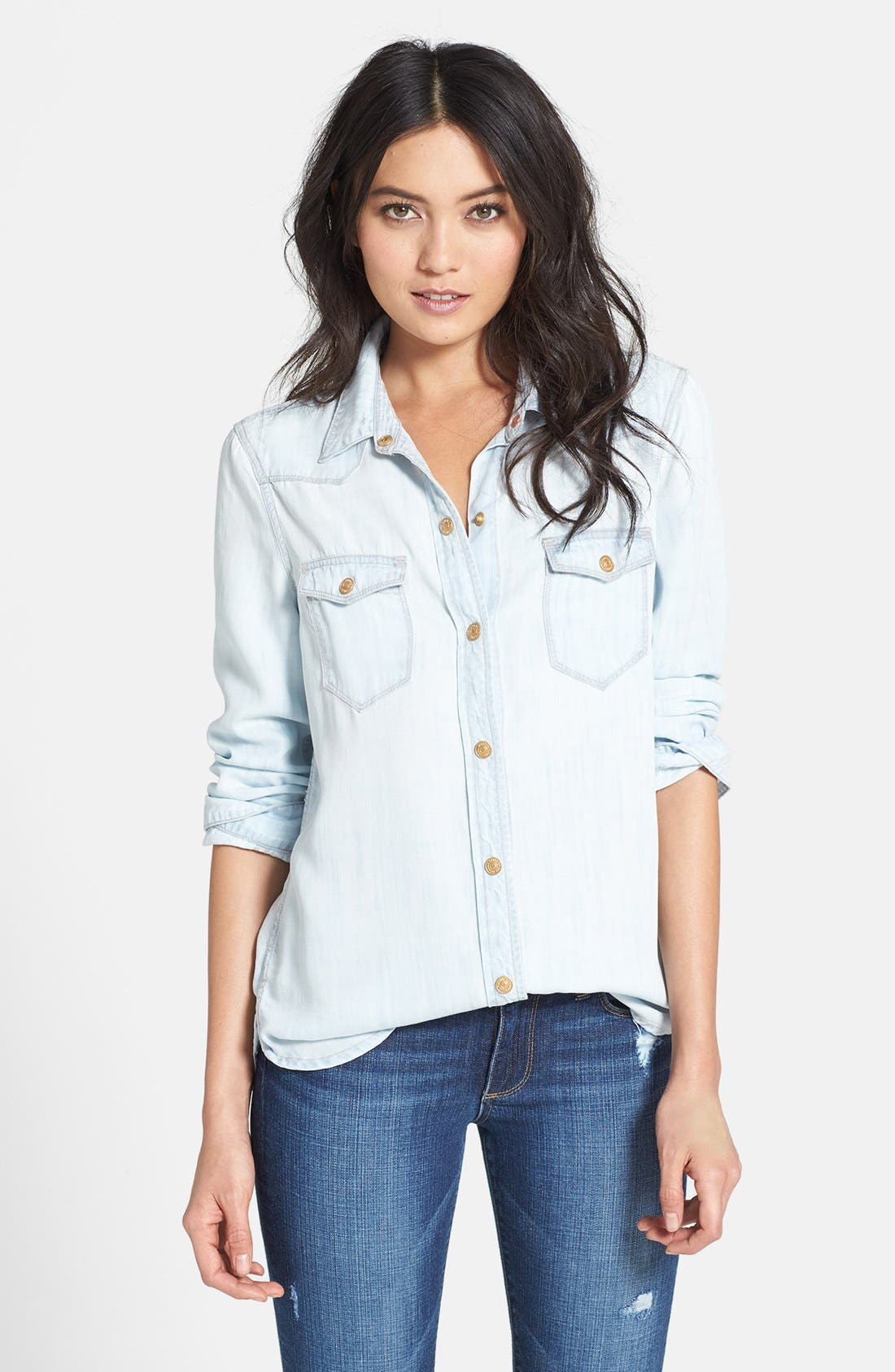 Alternate Image 1 Selected - 7 For All Mankind® Western Shirt