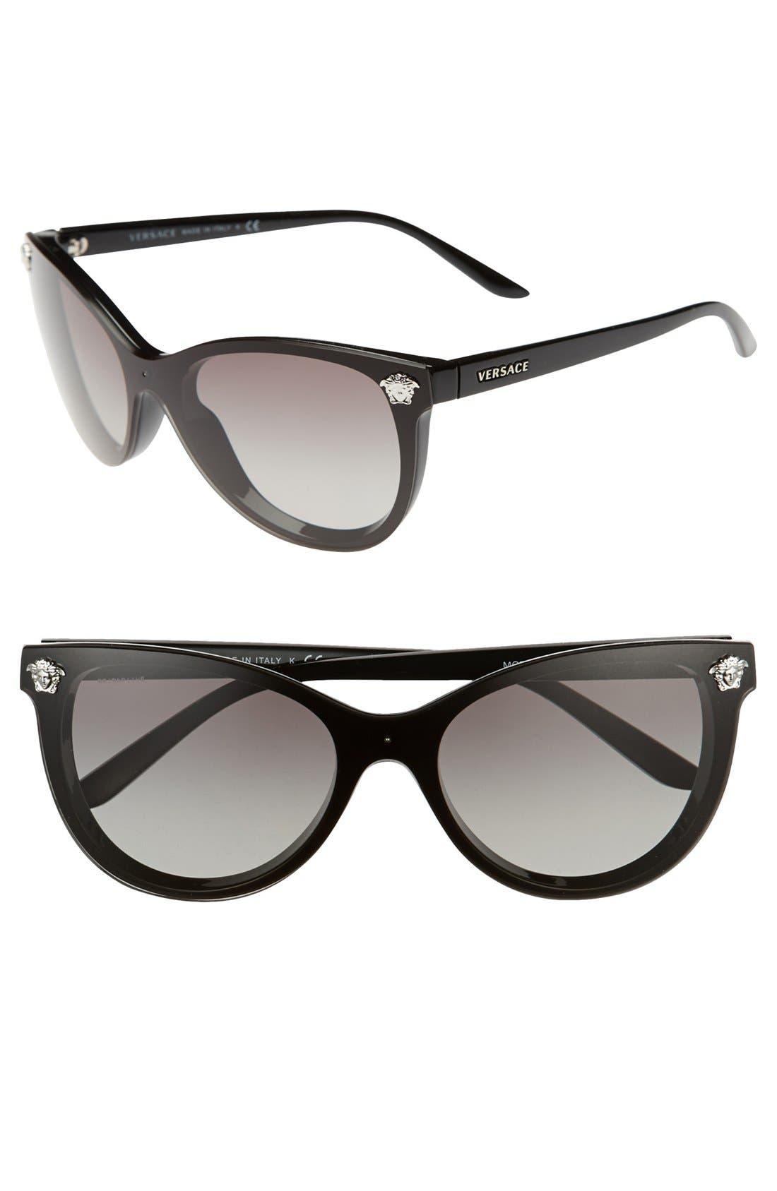 Alternate Image 1 Selected - Versace 'Rock Icons' 57mm Cat Eye Sunglasses