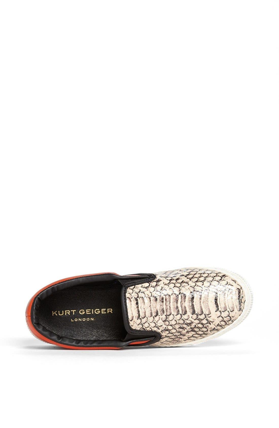 Alternate Image 3  - Kurt Geiger London Slip-On Sneaker