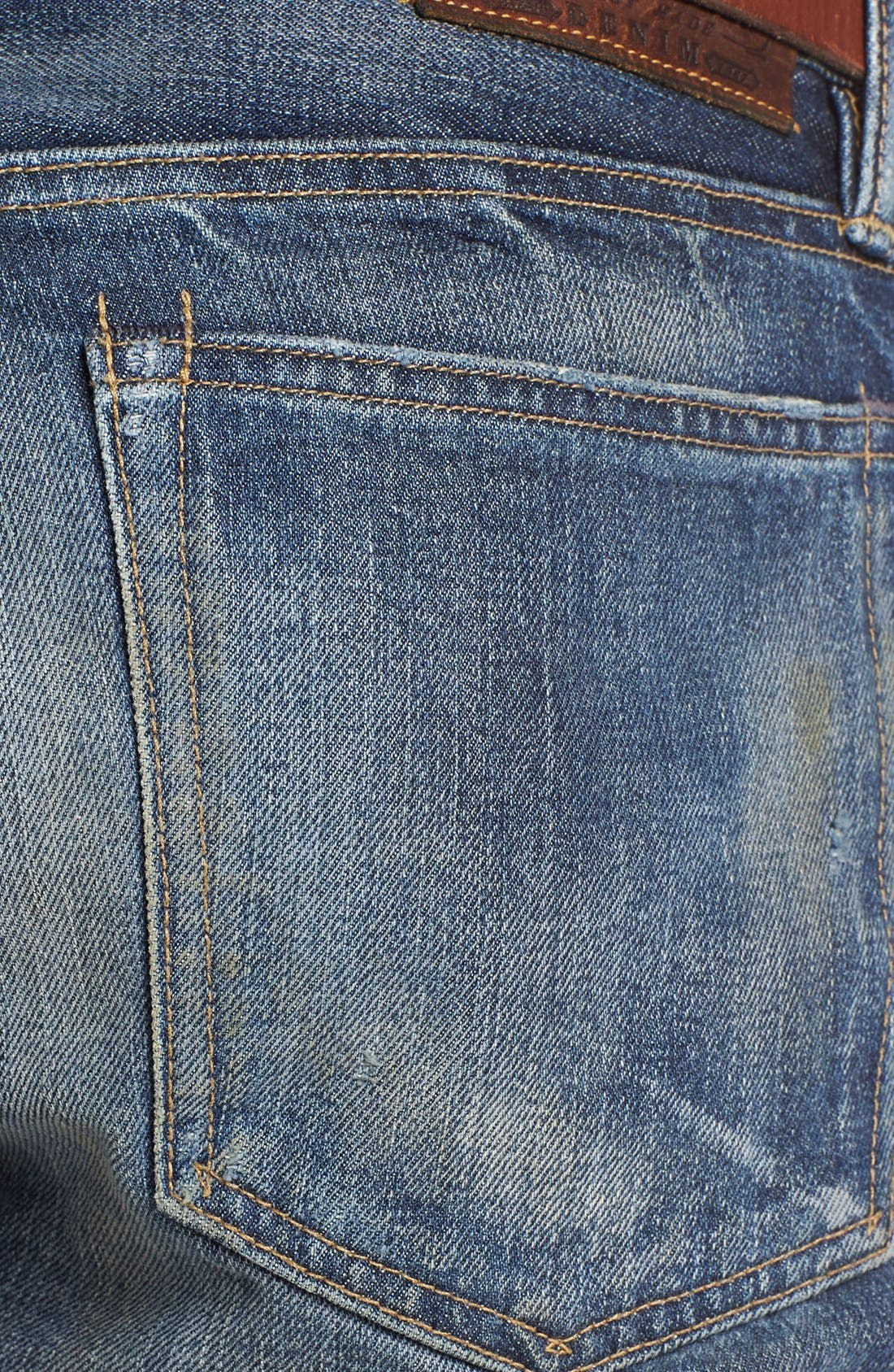 Alternate Image 3  - Polo Ralph Lauren Slim Fit Jeans (Linden Rinse)