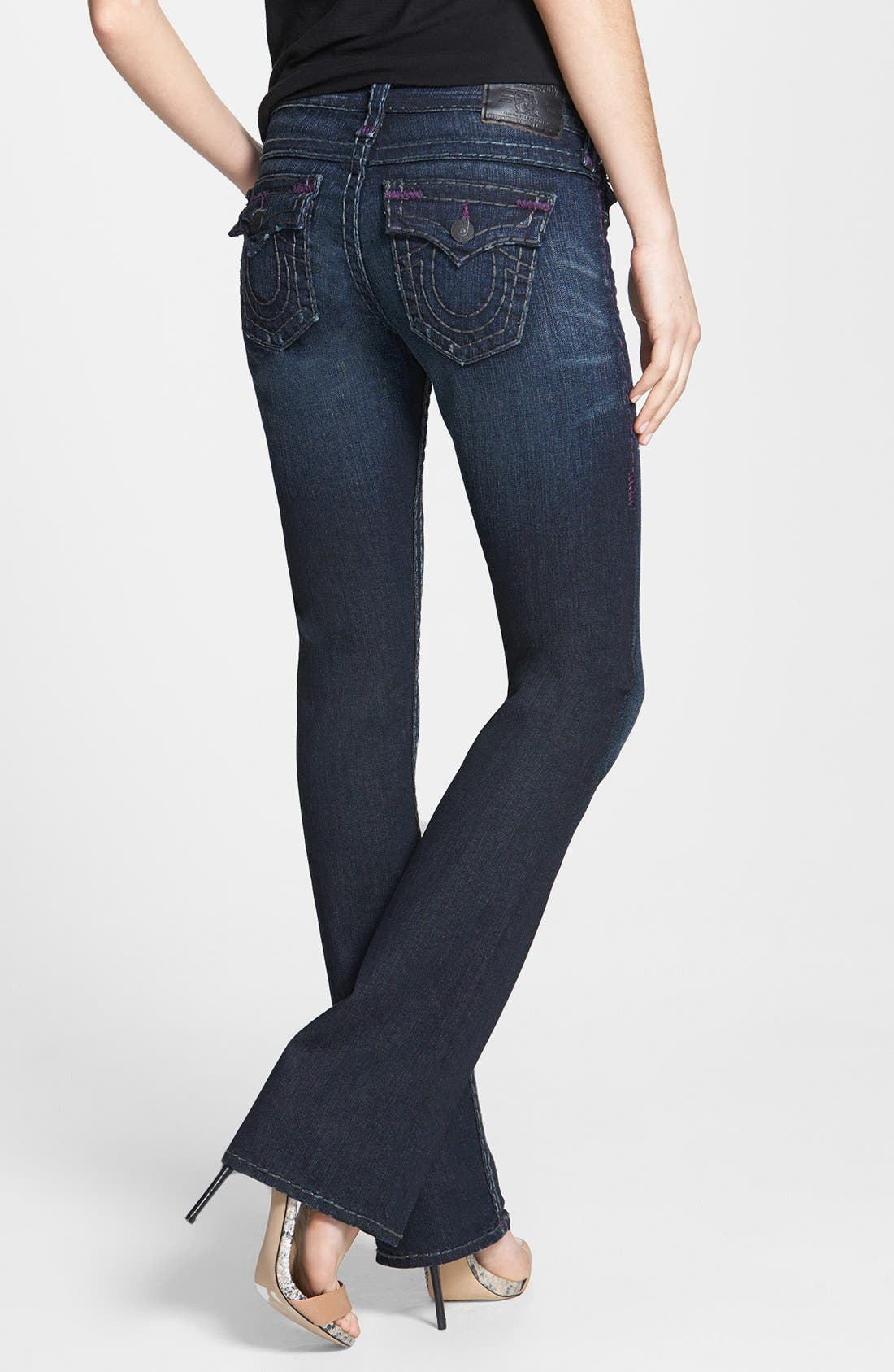 Alternate Image 2  - True Religion Brand Jeans 'Becky' Bootcut Jeans (Blue Water)