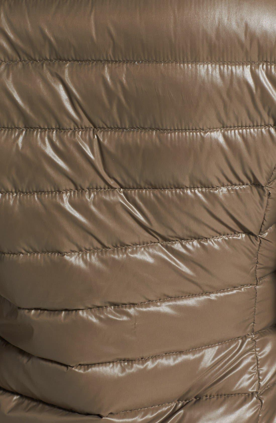 Alternate Image 3  - Calvin Klein Lightweight Asymmetric Down Jacket (Online Only)