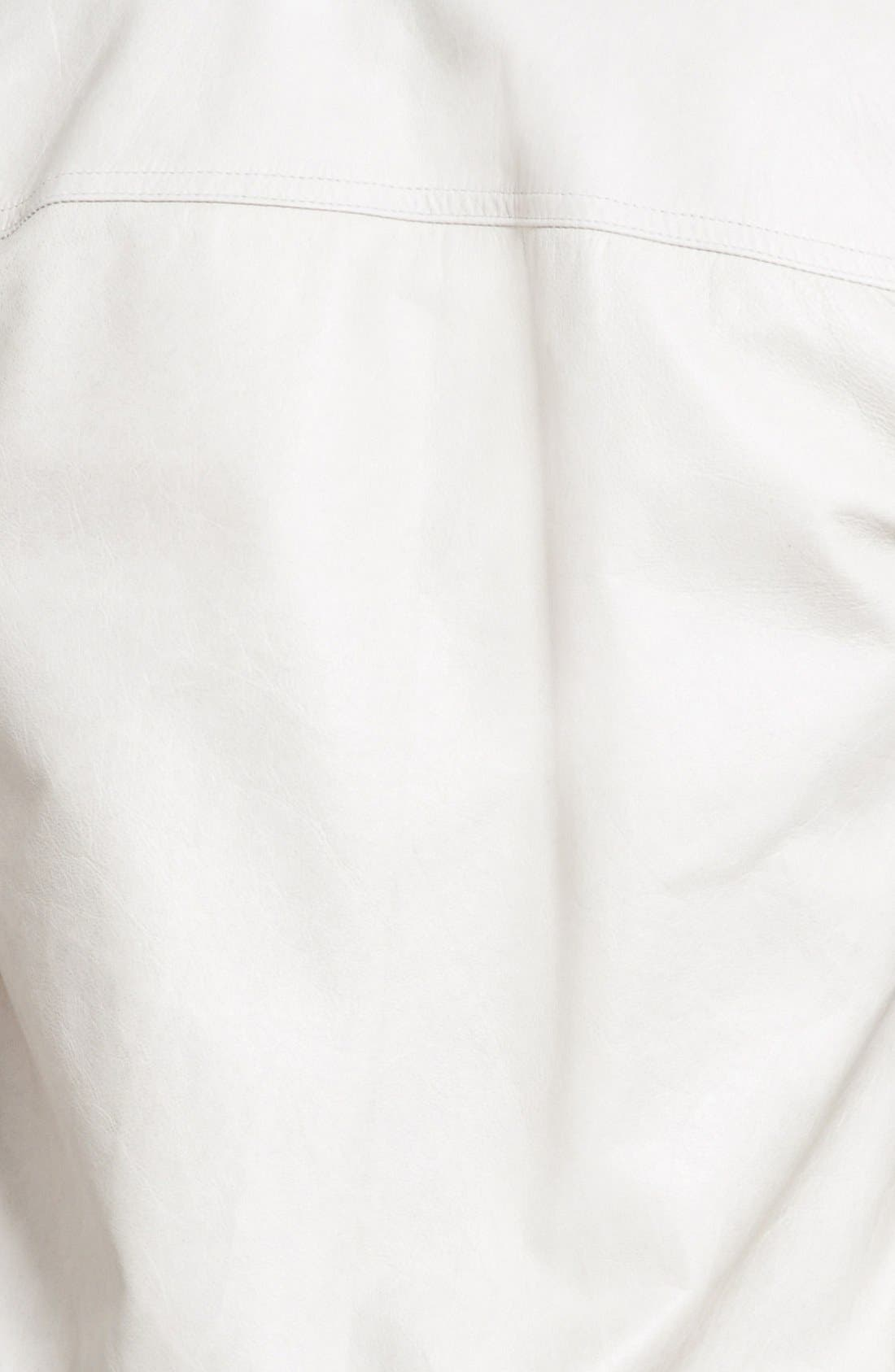 Alternate Image 4  - Rick Owens Leather Bomber Jacket