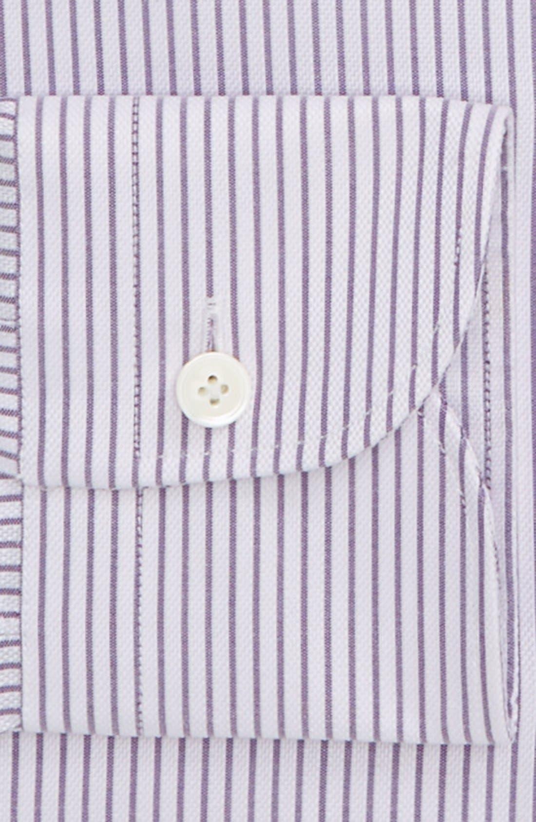 Classic Fit Dress Shirt,                             Alternate thumbnail 2, color,                             Lavender