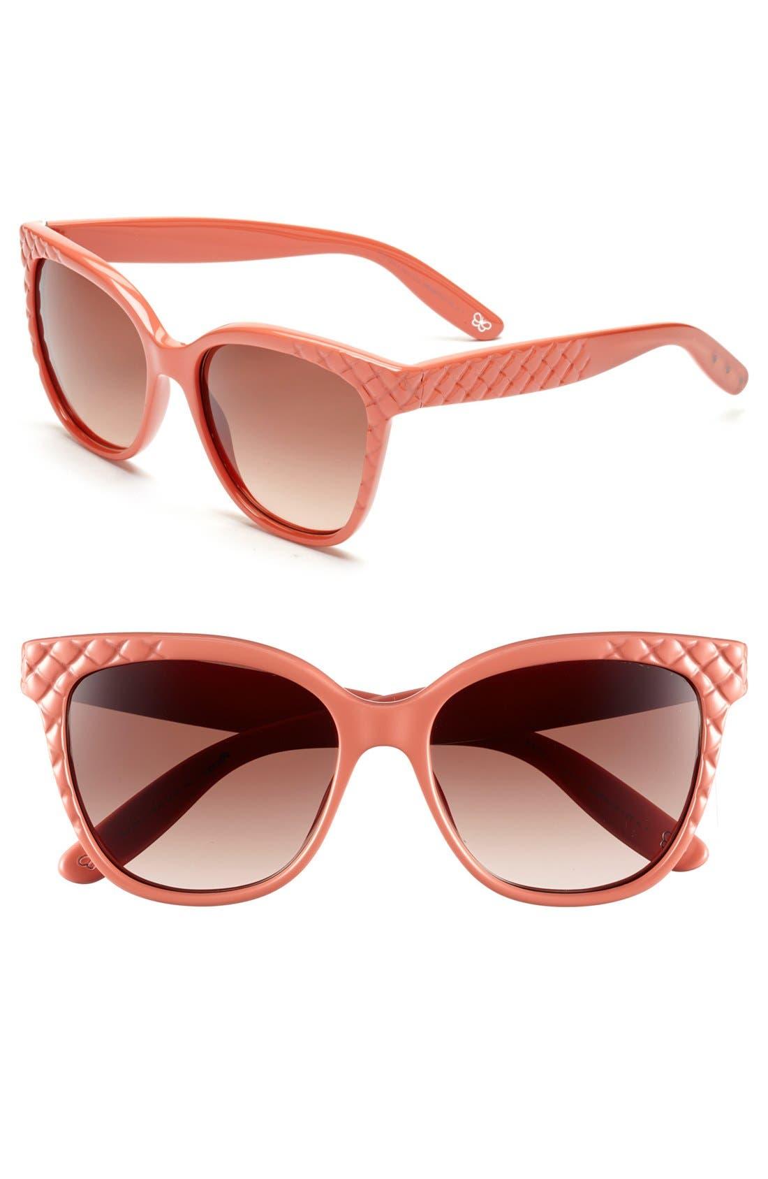 Main Image - Bottega Veneta 55mm Retro Sunglasses