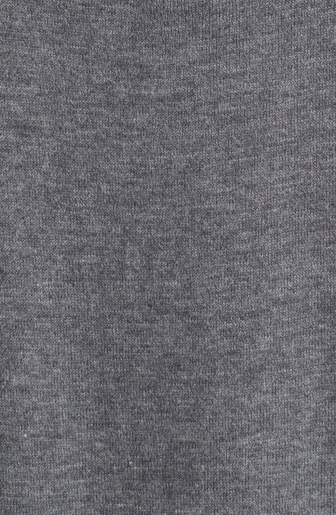 Alternate Image 3  - Halogen® High/Low Tunic Sweater (Petite)