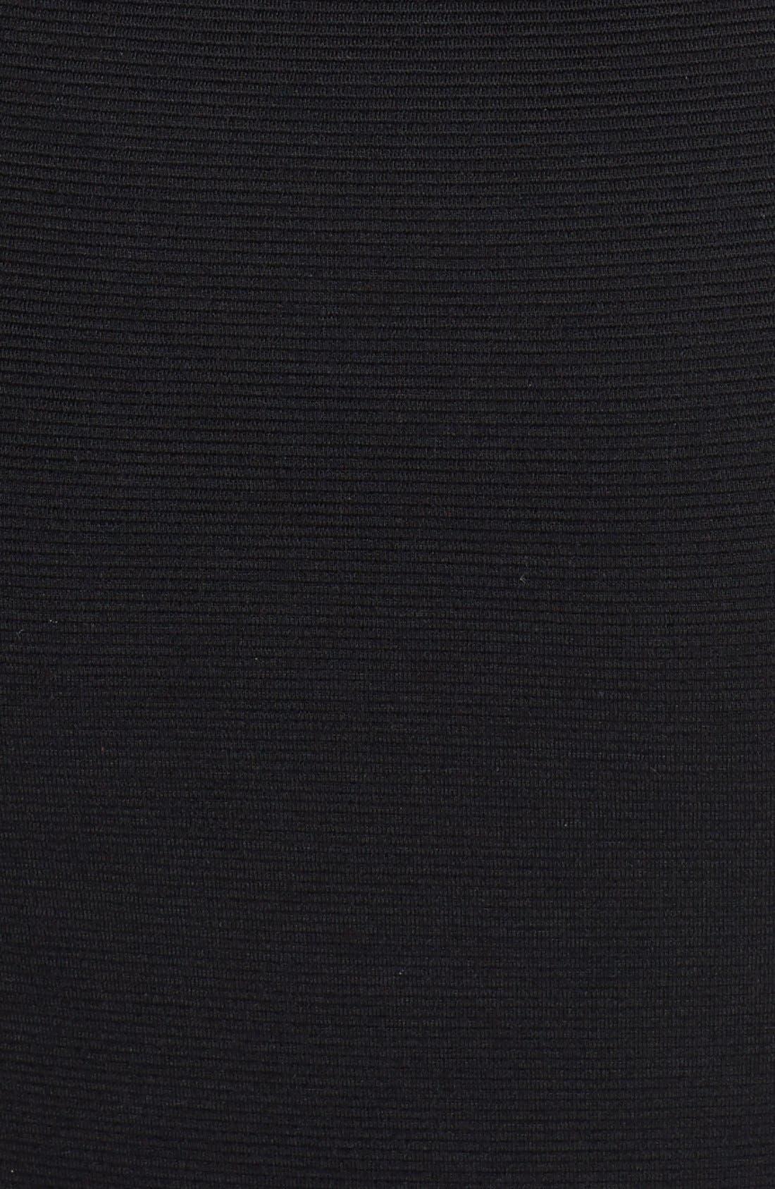 Alternate Image 3  - Black Halo 'Pierce' Asymmetrical Maxi Dress
