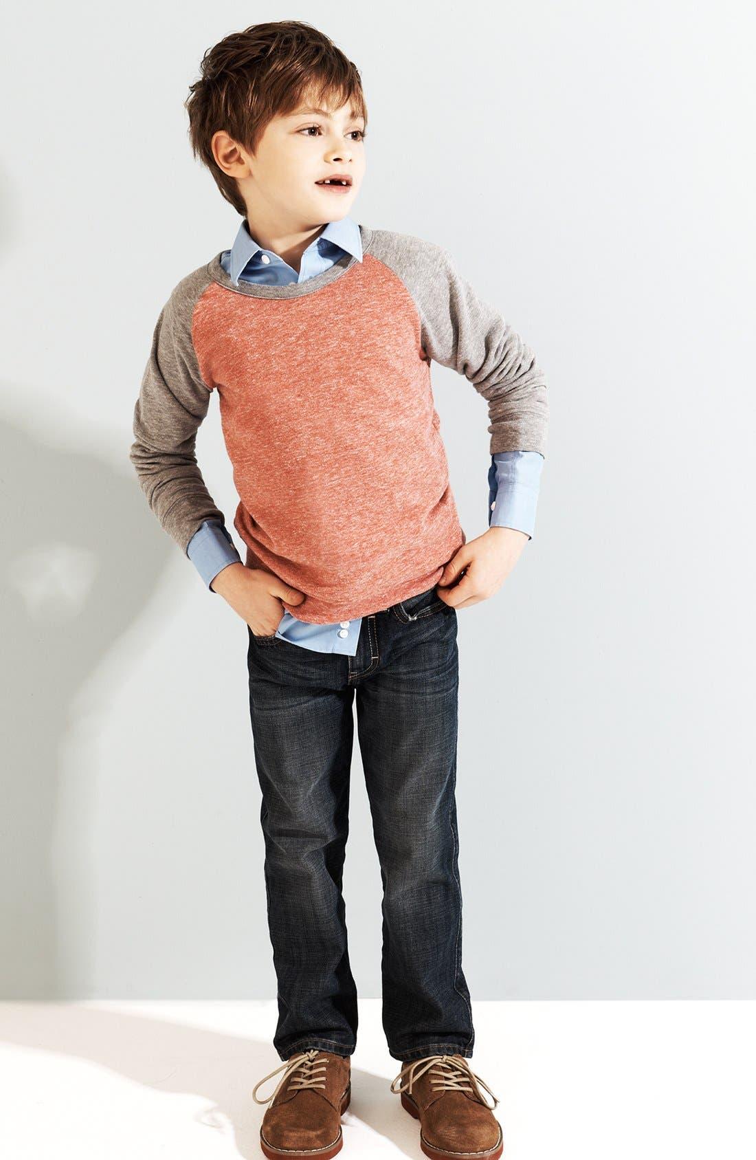 Alternate Image 2  - Tucker + Tate Fleece Sweatshirt (Little Boys)