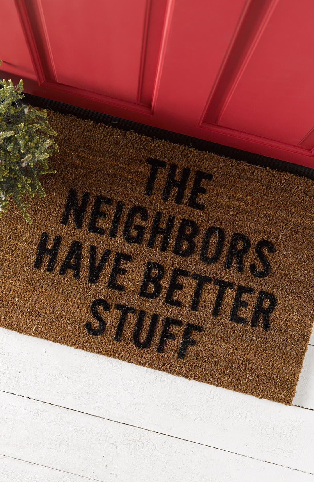 Alternate Image 2  - Reed Wilson Design Neighbors Doormat