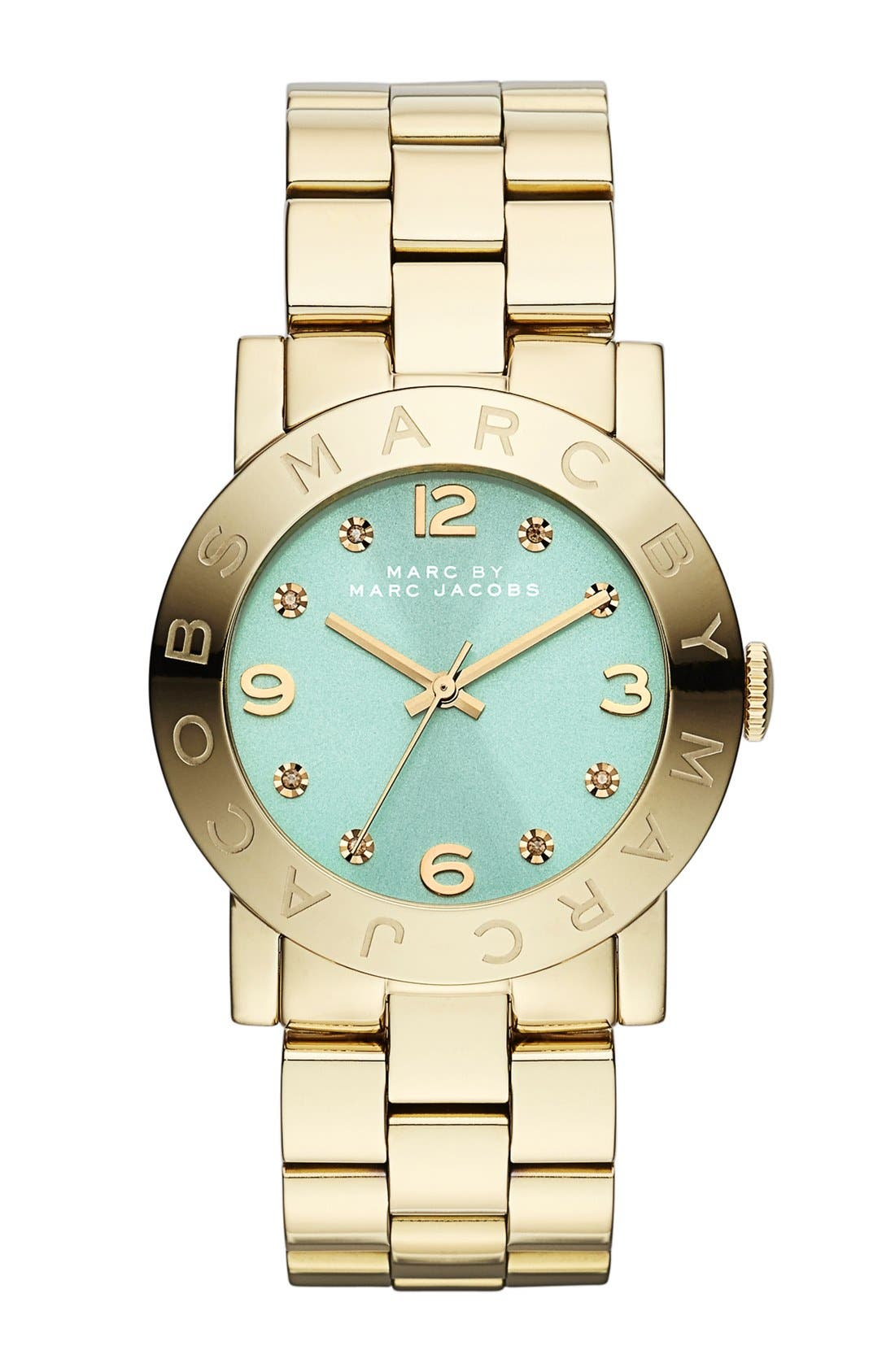 Main Image - MARC JACOBS 'Amy' Bracelet Watch, 36mm