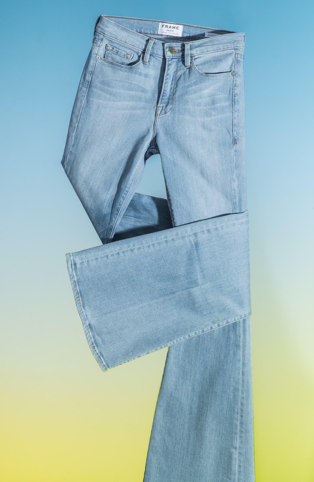 Alternate Image 1 Selected - Frame Denim 'Forever Karlie' Flared Jeans (Redchurch Street)