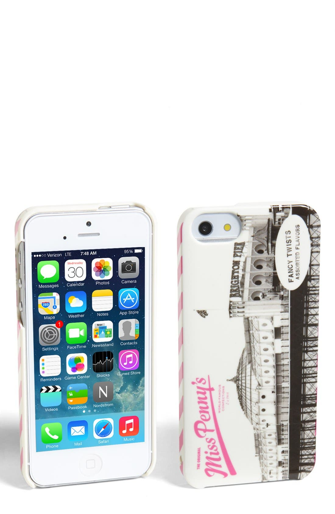 Main Image - kate spade new york 'miss penny's' iPhone 5 & 5s case