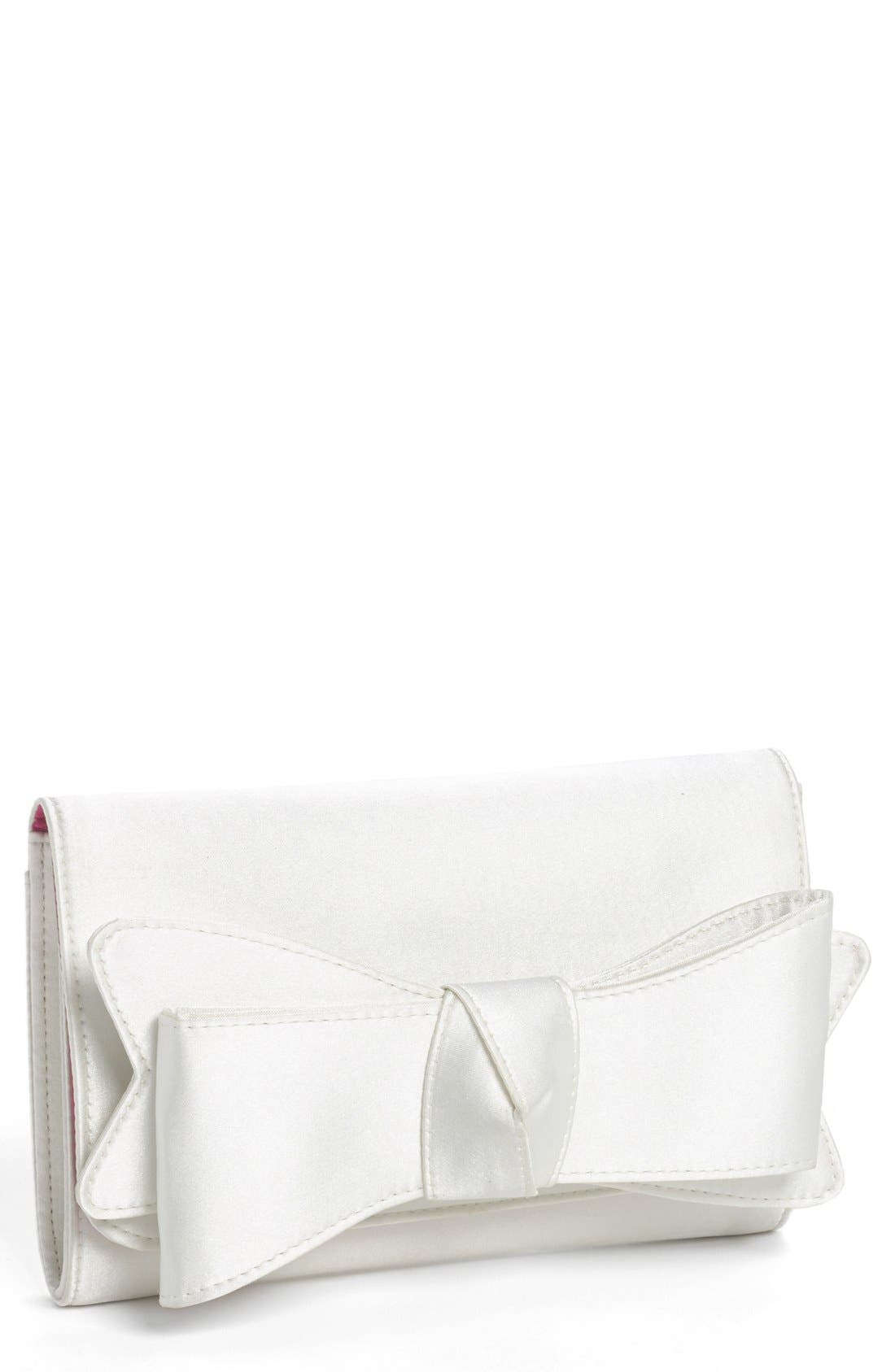 Alternate Image 1 Selected - Nina Bow Clutch