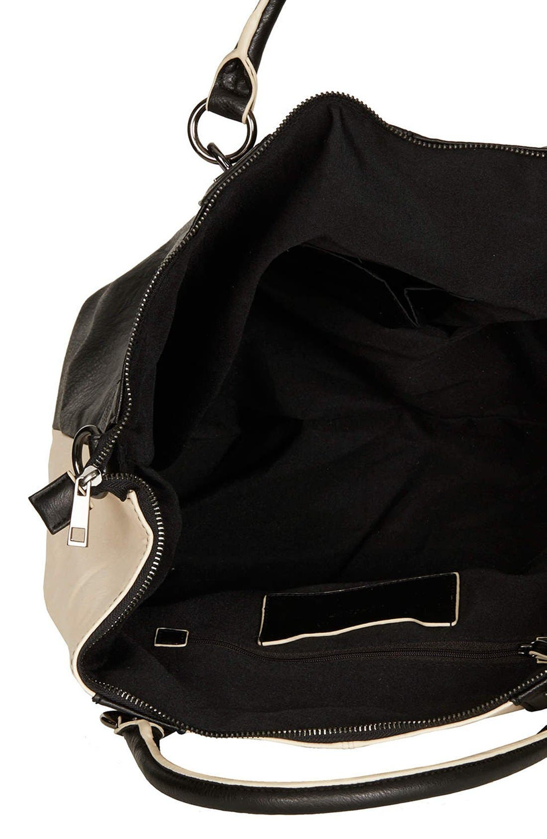 Alternate Image 3  - Topshop Faux Leather Tote