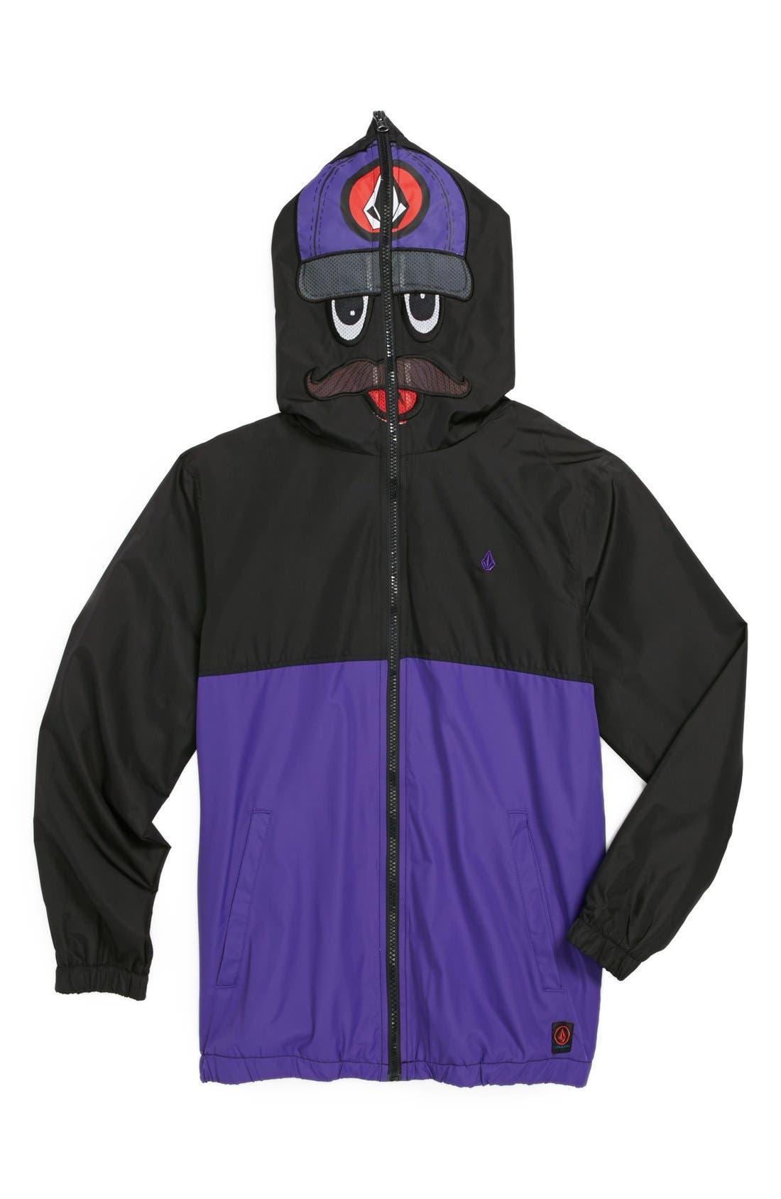 Alternate Image 1 Selected - Volcom 'Hoopla Digger' Jacket (Big Boys)
